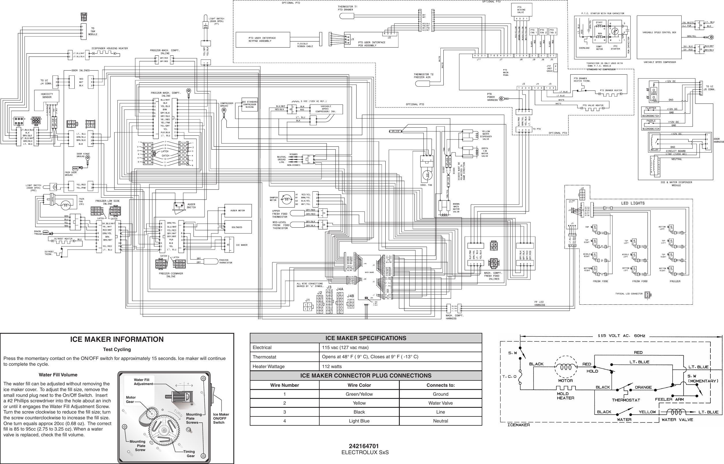 wiring diagram for counter electrolux counter depth side by refrigerator with iq touch wiring diagram for international 244 tractor electrolux counter depth side by