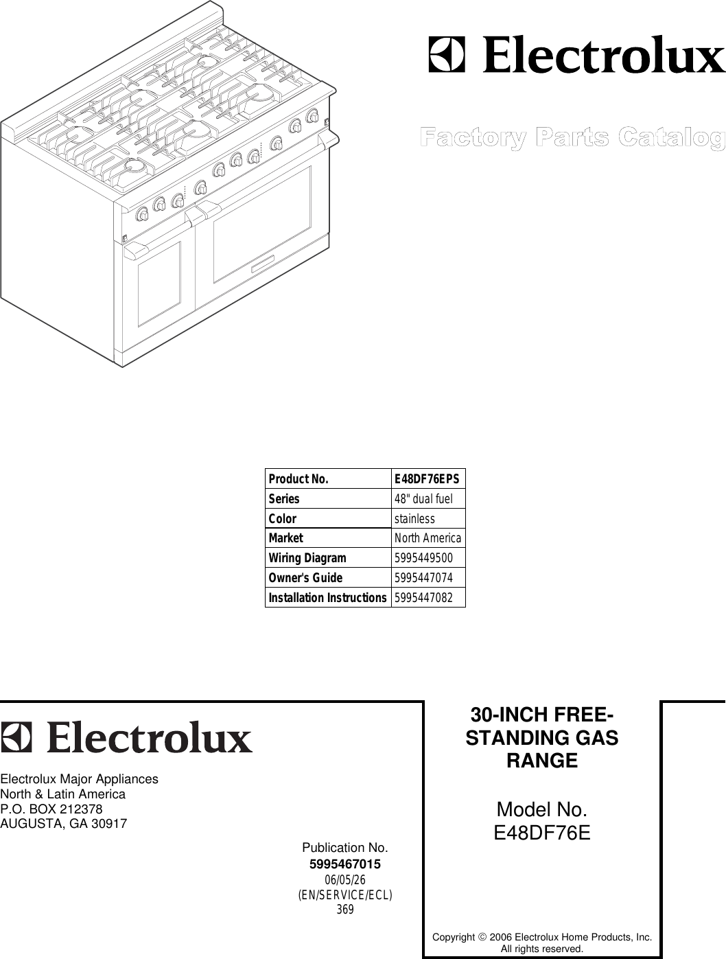 Electrolux E48df76e Users Manual 5995467015 Rack Wiring Diagram Aps Page 1 Of 12