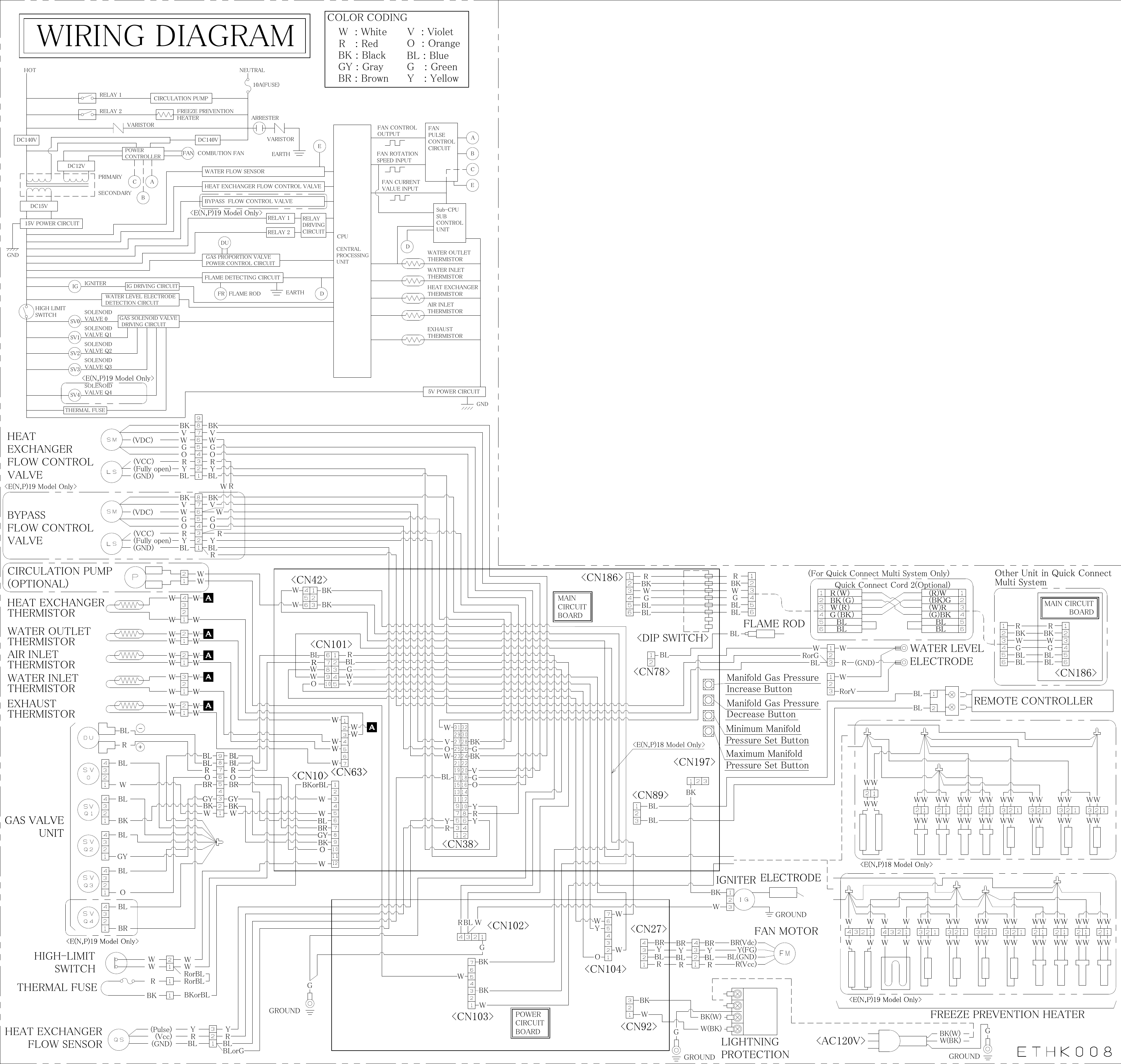 Electrolux Liquid Propane Condensing Tankless Water Heater Instant Wiring Diagram Page 1 Of