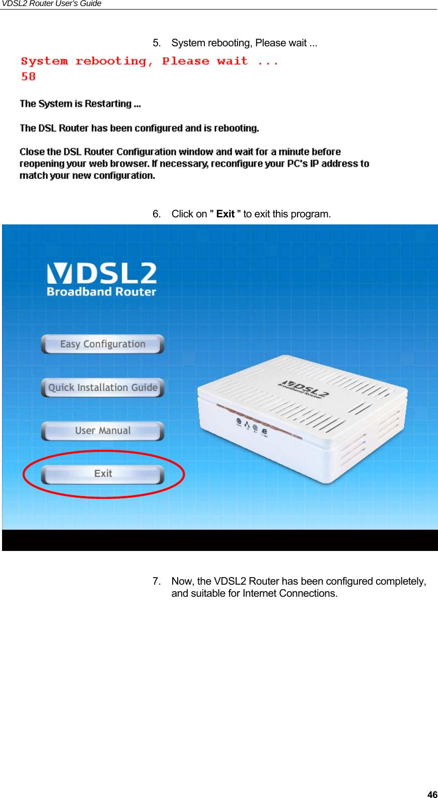 Eltek Technologies V7100 1 Port VDSL2 Router User Manual Manual V7100 Ax