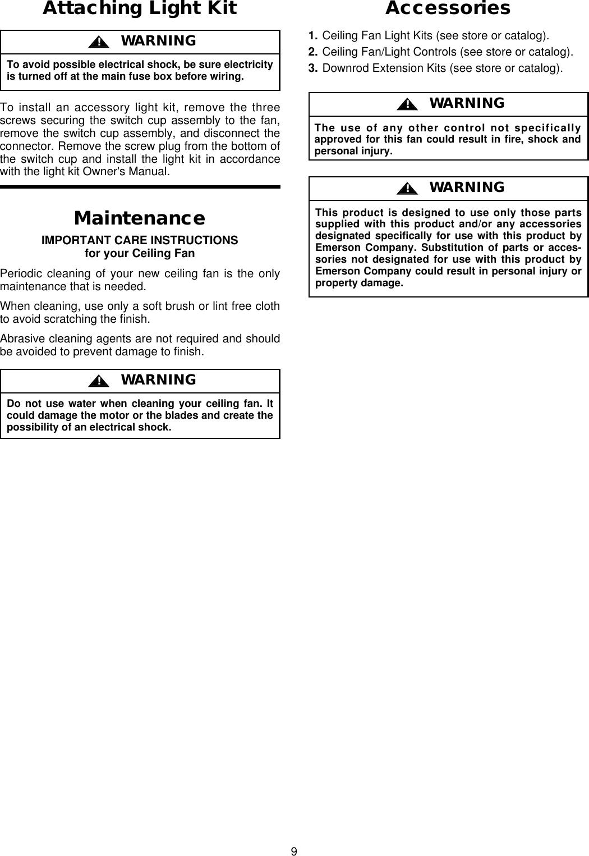 Emerson Cf3900Ab01 Owners Manual BP7234, Apollo, CF3900