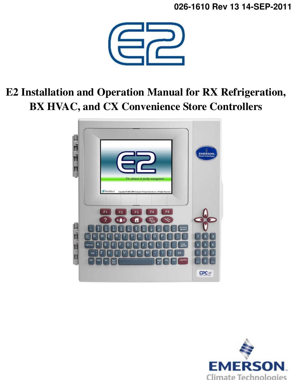 emerson e2 users manual user