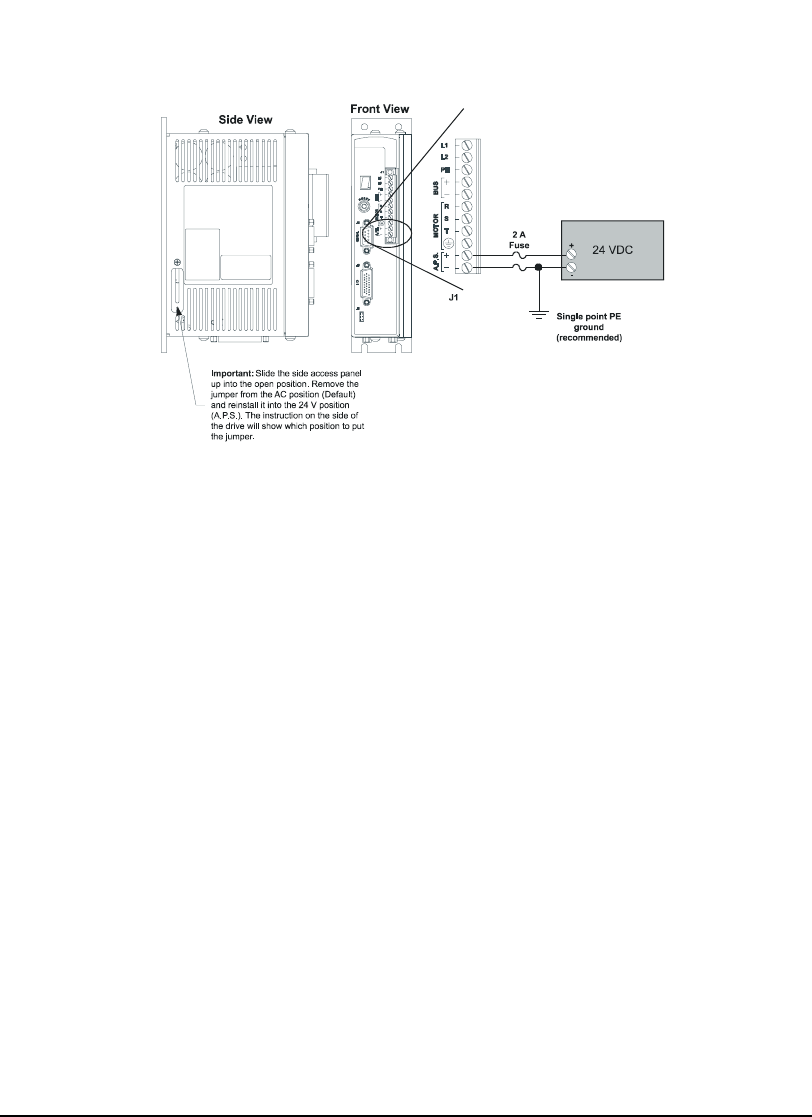 Emerson Epsilon Eb Digital Servo Drive Installation Manual Main Enco Wiring Diagram Single Phase 16