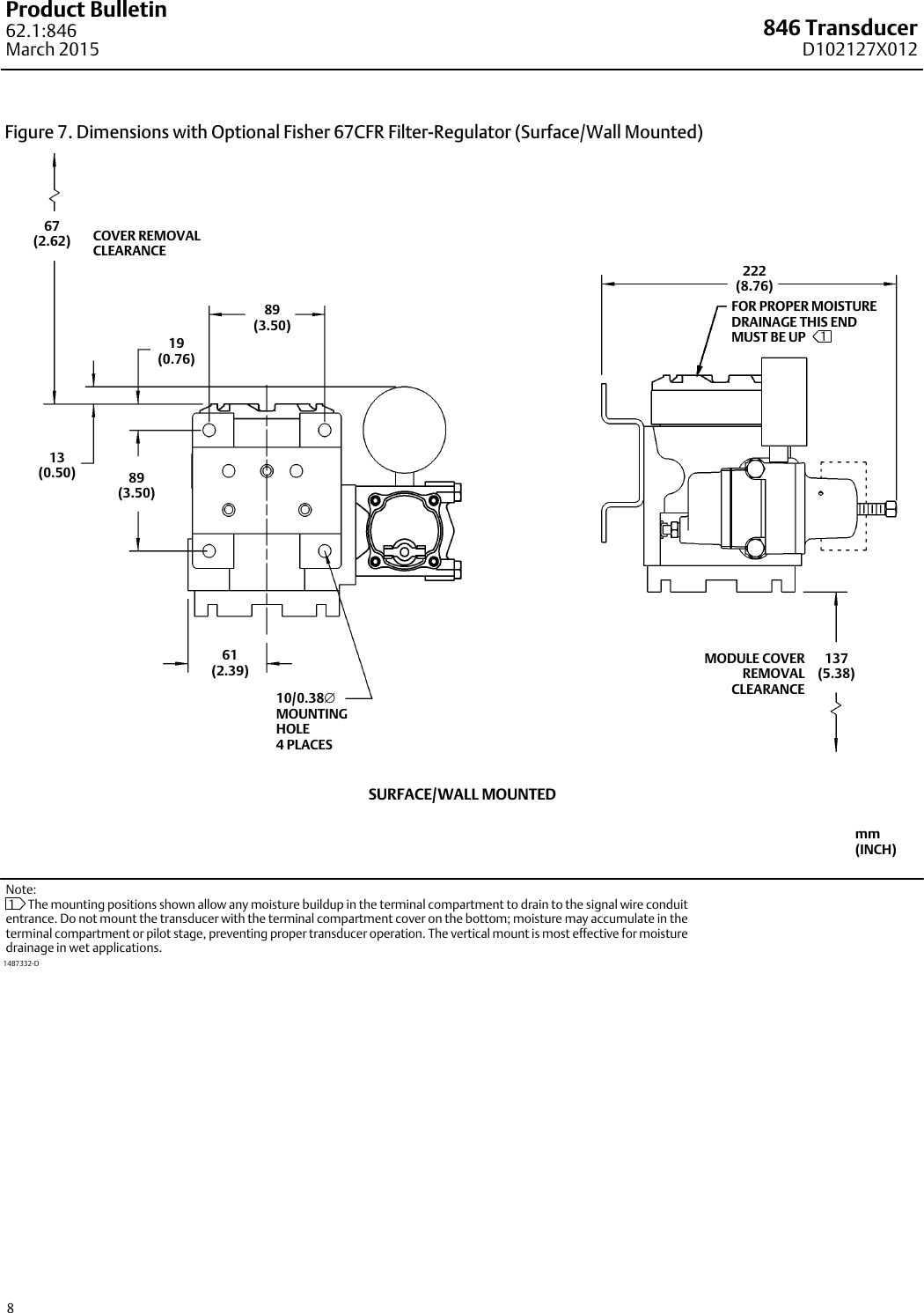 Emerson Fisher 846 Data Sheet D102127x012 Mar15 Aq Drawing Information Housing Diagram Page 2 Wiring 8 Of 12