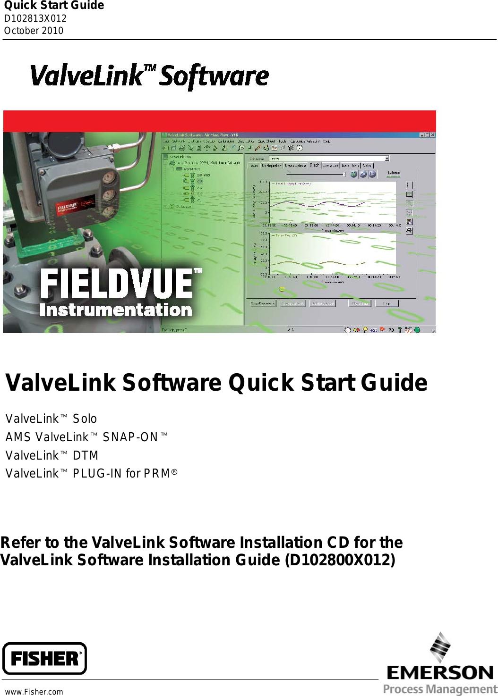 Emerson Fisher Valvelink Software User Guide