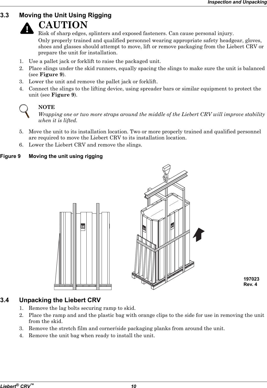 Emerson Liebert Crv Users Manual
