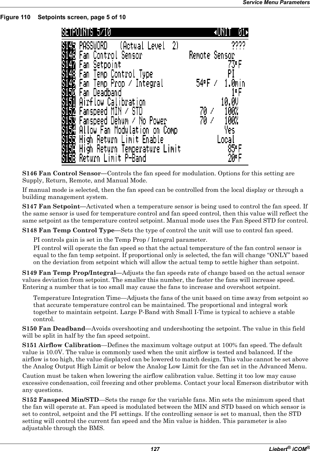 Emerson Liebert Icom Users Manual