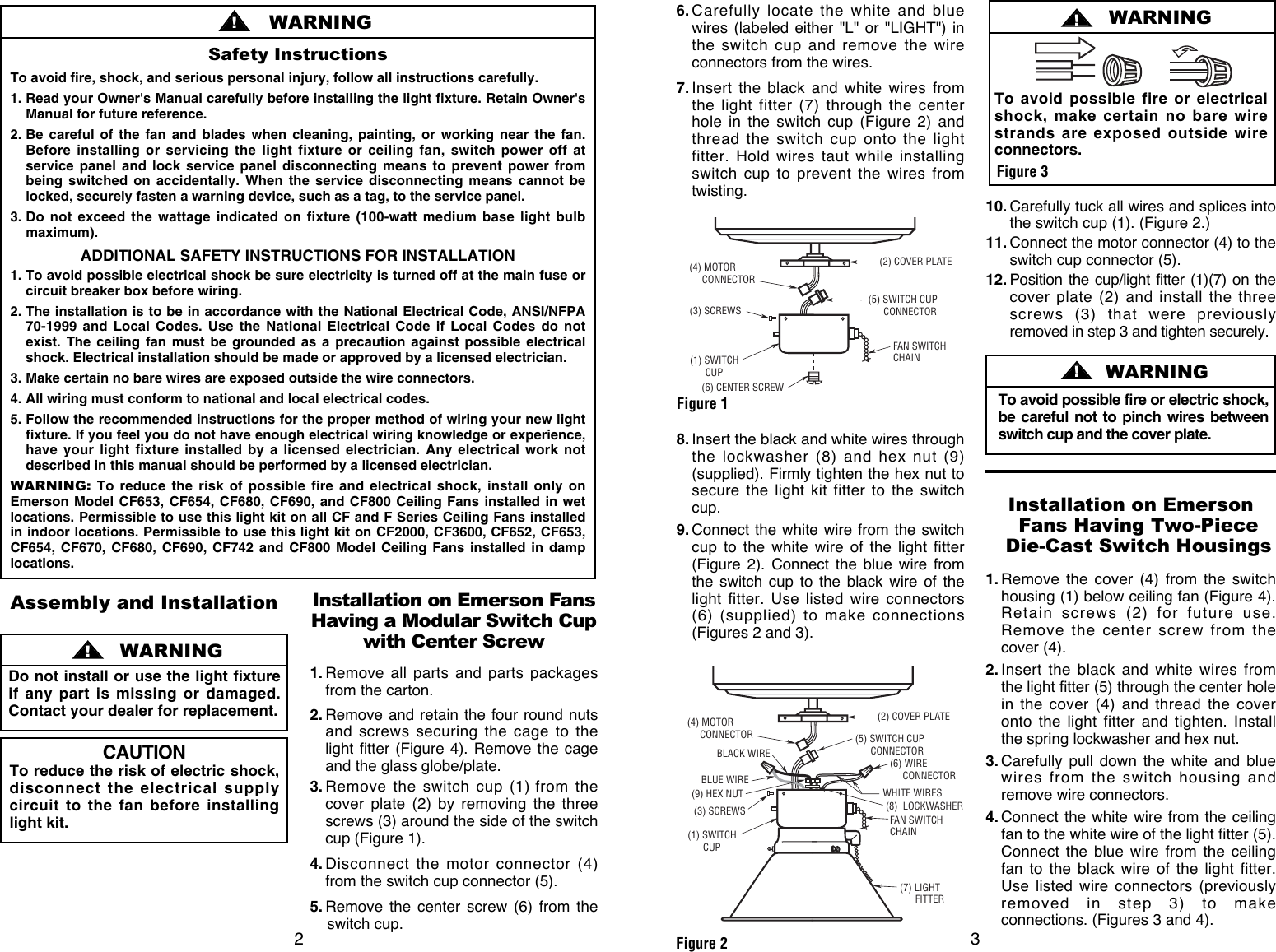 Page 2 of 2 - Emerson Emerson-Lk46-Owners-Manual- BP7263-