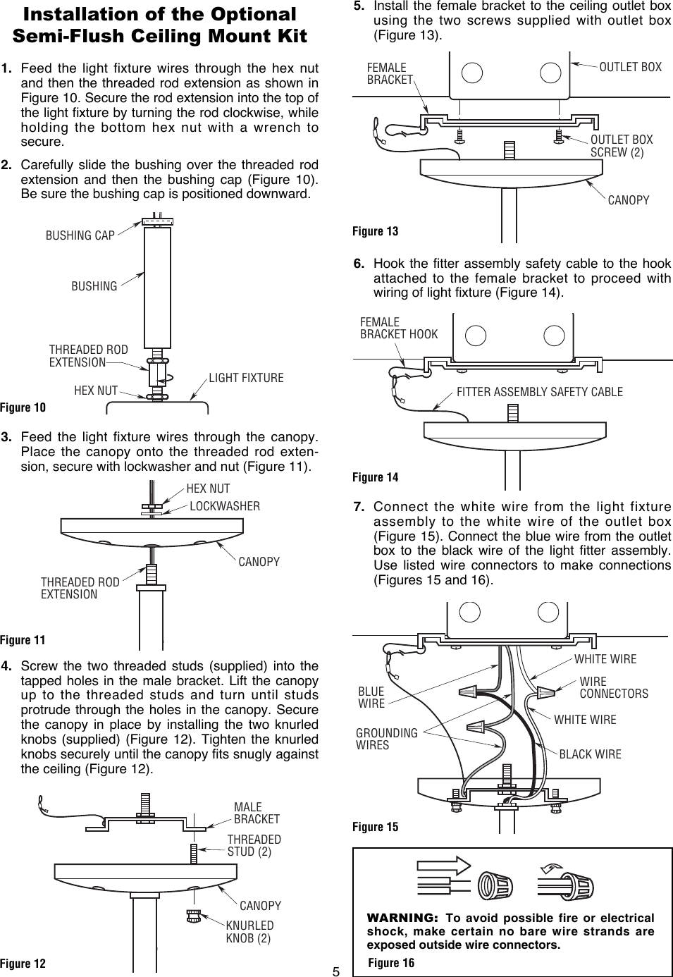 Emerson Lk70 Owners Manual Bp7418 And Lk80 Wiring A Light Fixture Blue Wire Page 5 Of 8
