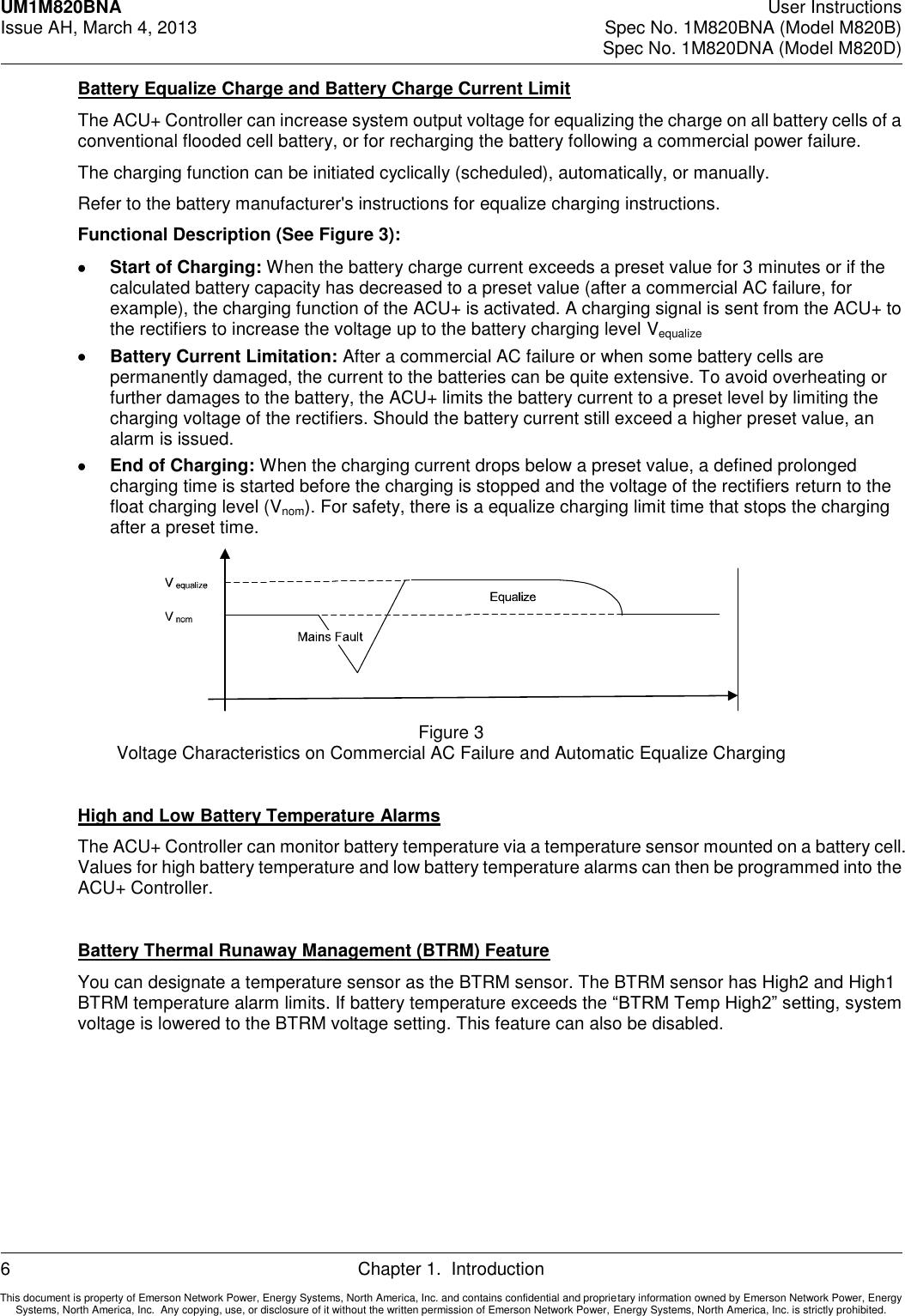 Emerson M820B Users Manual
