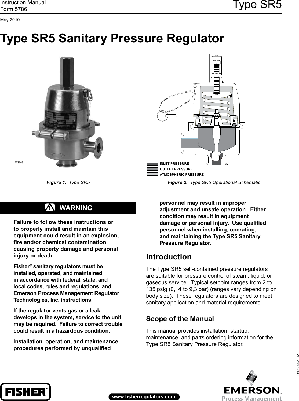 Oil Pressure Regulator Manual Guide