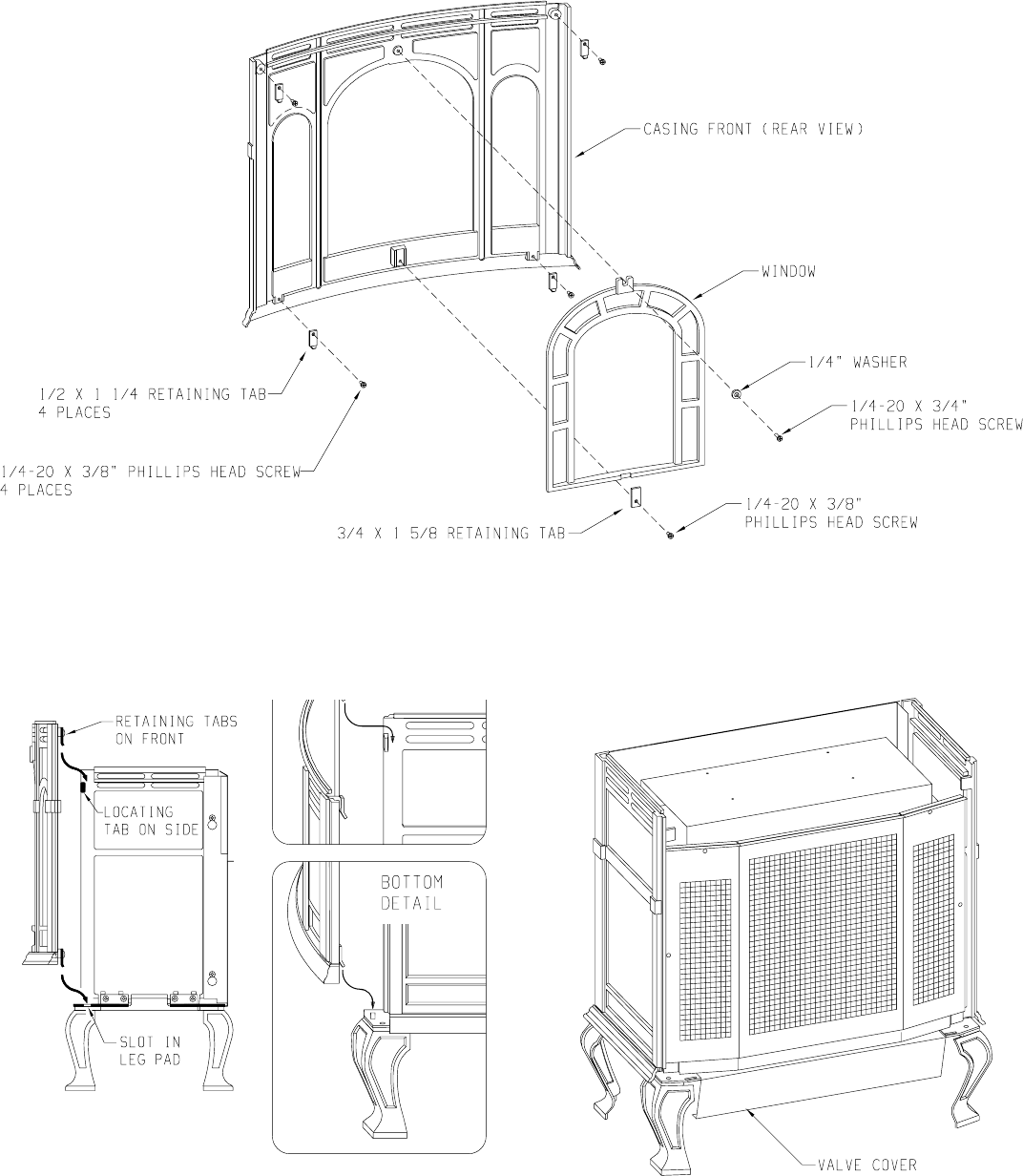 empire fort systems civf 25 2 users manual  page 8 r 3451