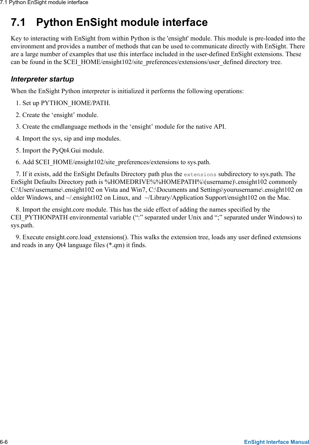 Ensight Interfacemanual User Manual Interface