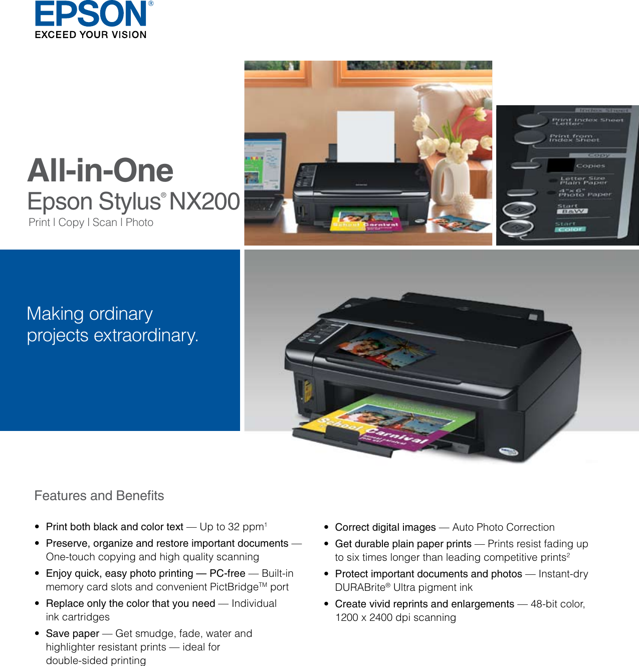 DRIVERS FOR EPSON STYLUS NX200