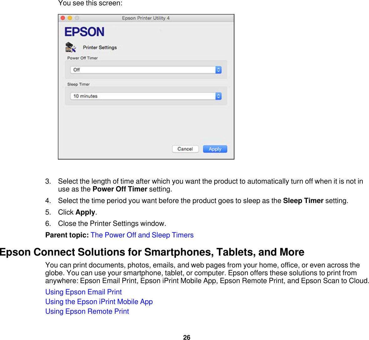 Epson Xp 420 Users Guide User's 420/XP 424
