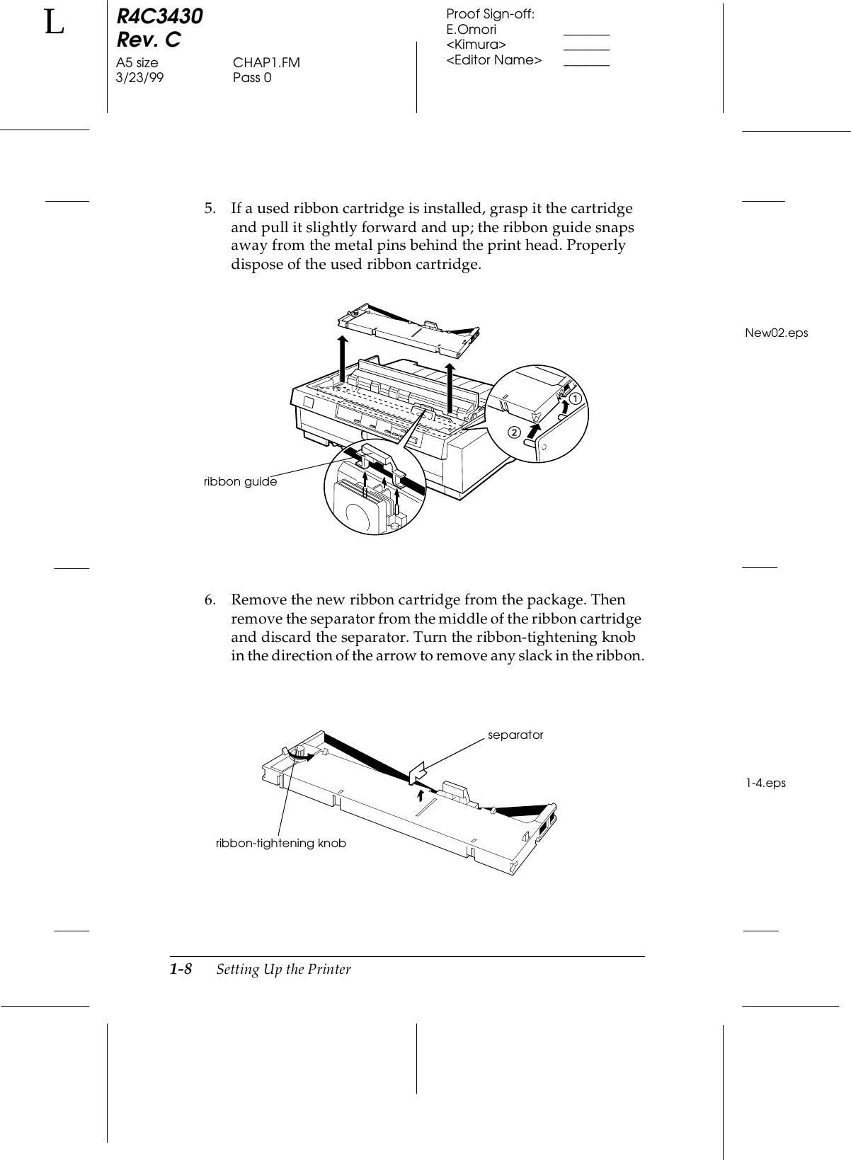 Epson Fx 980 Impact Printer Users Manual User