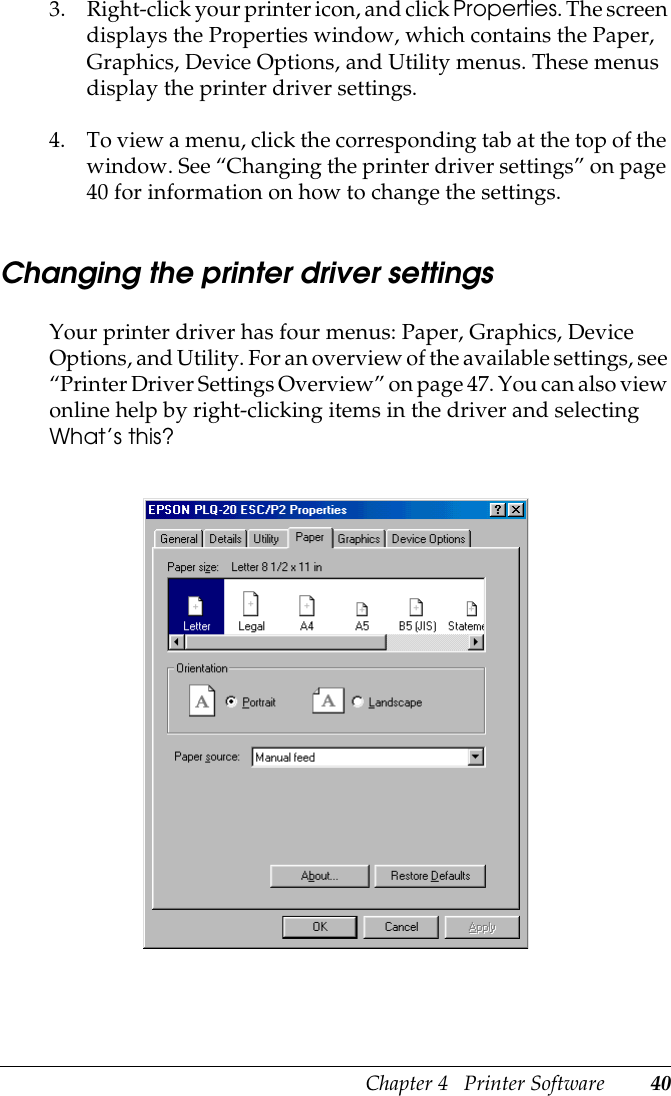 Epson Plq 20M Users Manual 20/PLQ
