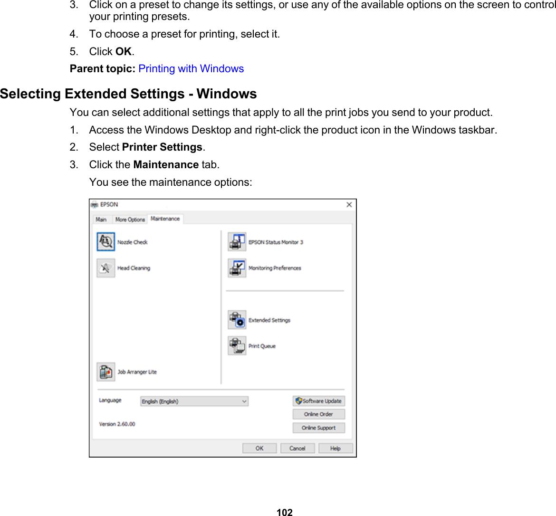 Epson User's Guide WF 3720/WF 4720/WF 4730 Series Manual