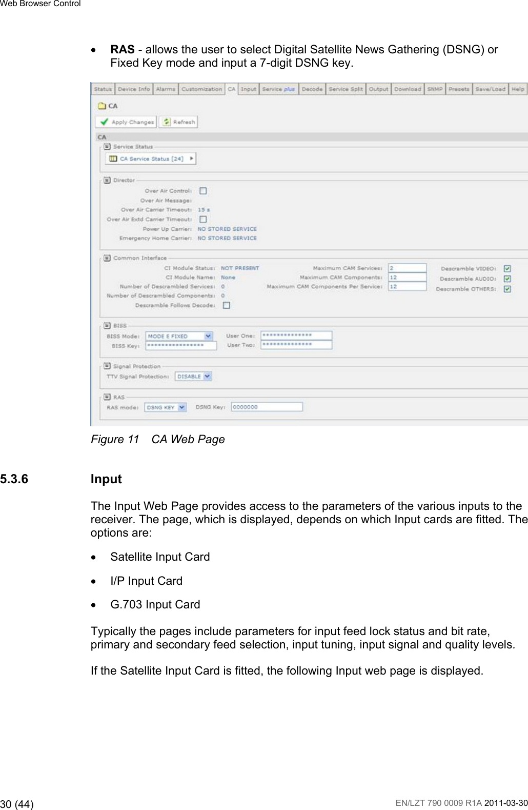 Ericsson Rx8200 Users Manual Advanced Modular Receiver