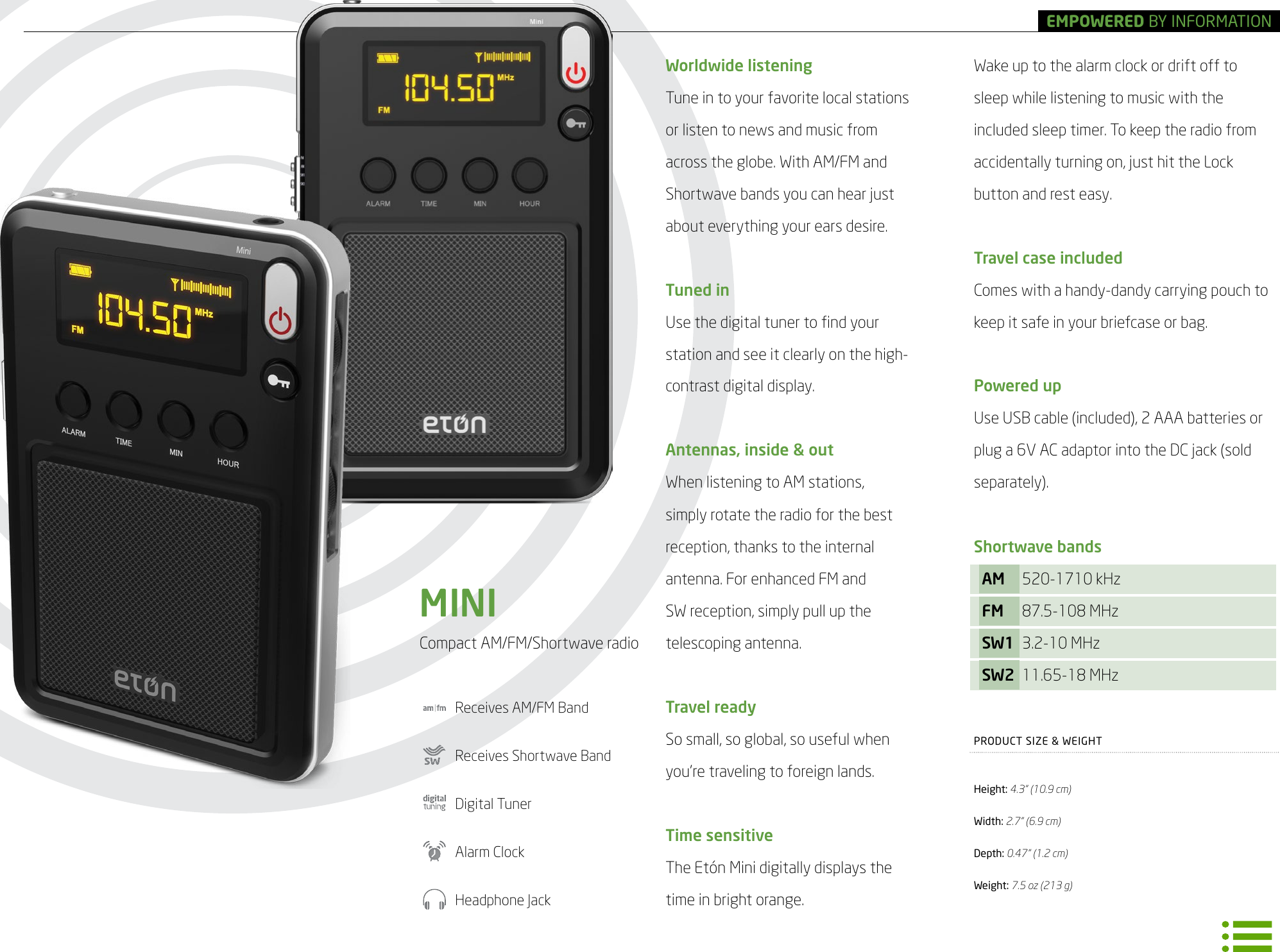Eton Corporation Radio Frx4 S Users Manual