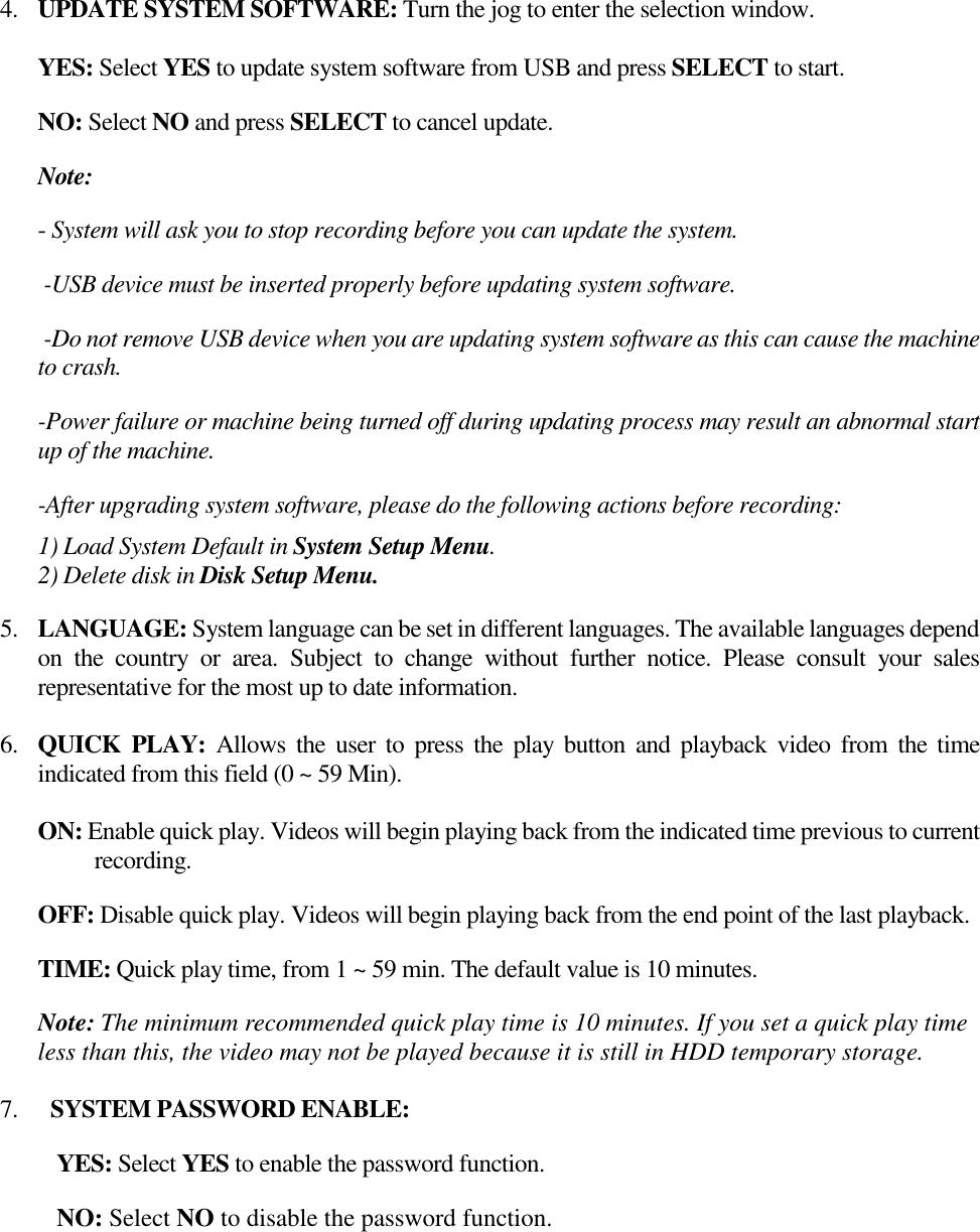 Everfocus Dvr Edr410H Users Manual