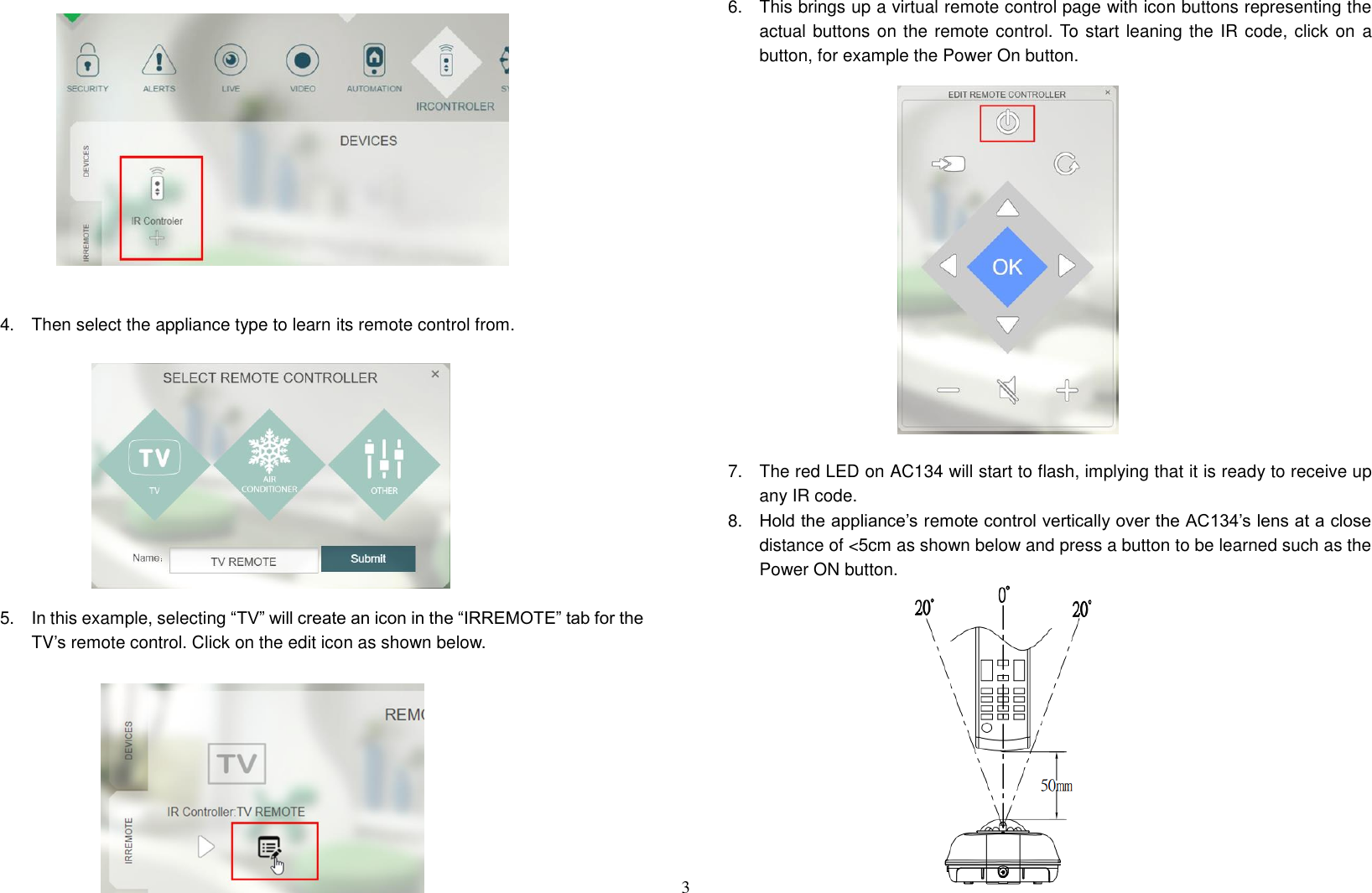 Everspring Industry Co AC134-2 Wireless IR Controller User Manual