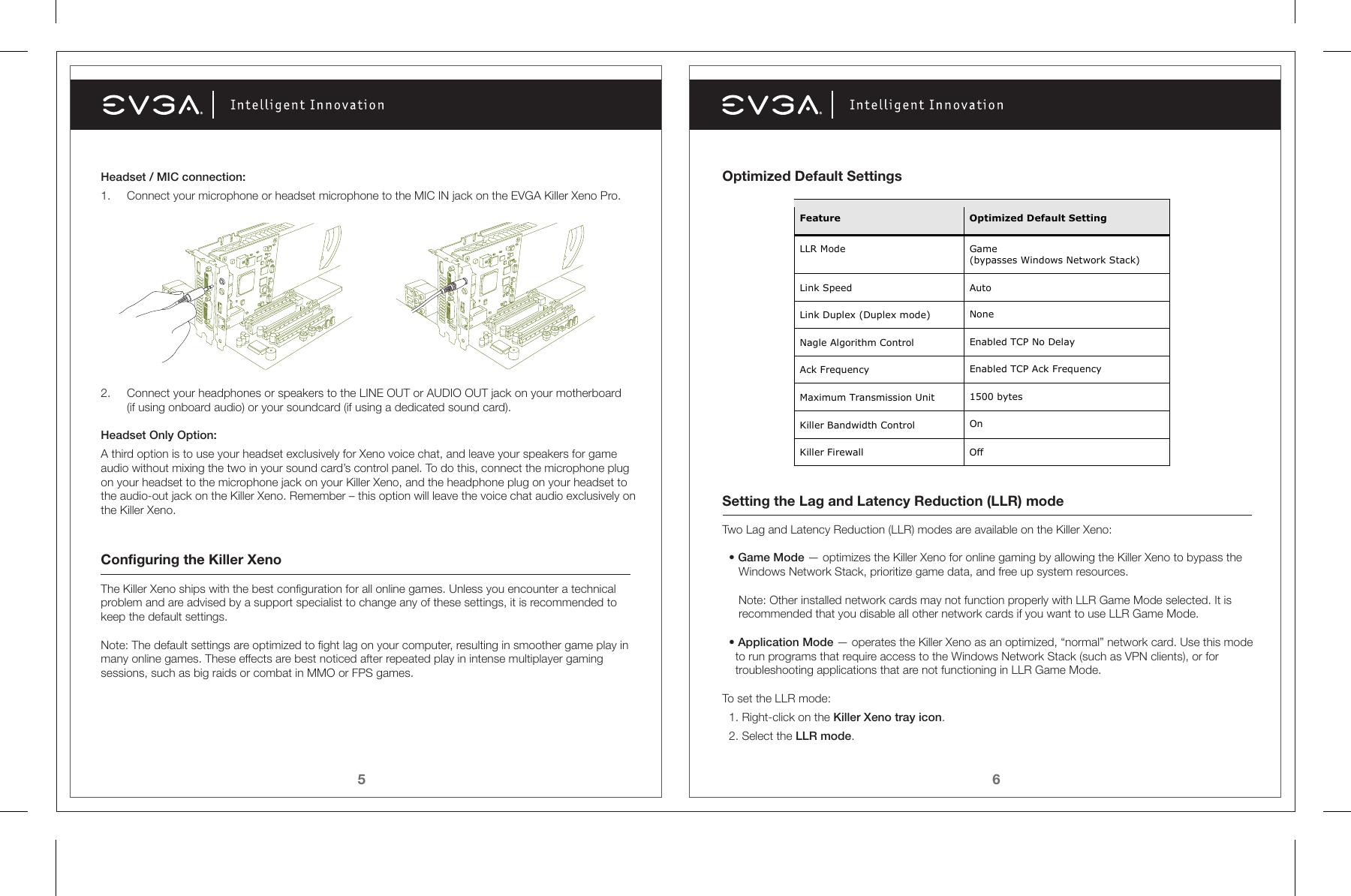 Evga Killer Xeno Pro 128 P2 Kn01 Users Manual 11 12