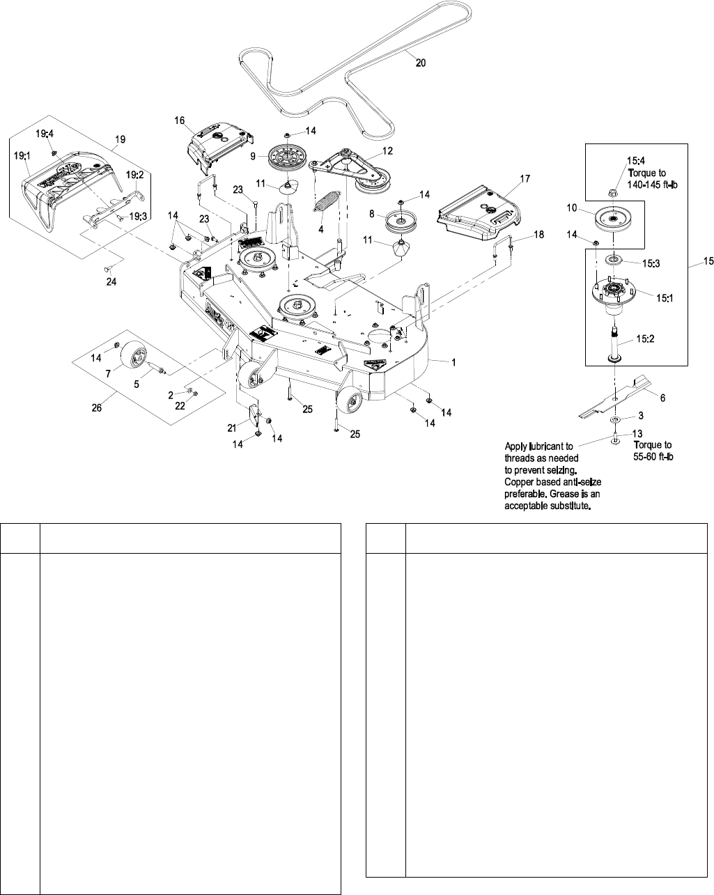 Exmark Lazer Z Lawn Mower Lhp4820kc Users Manual 4500 567 Laser Wiring Diagram 48 Deck Group