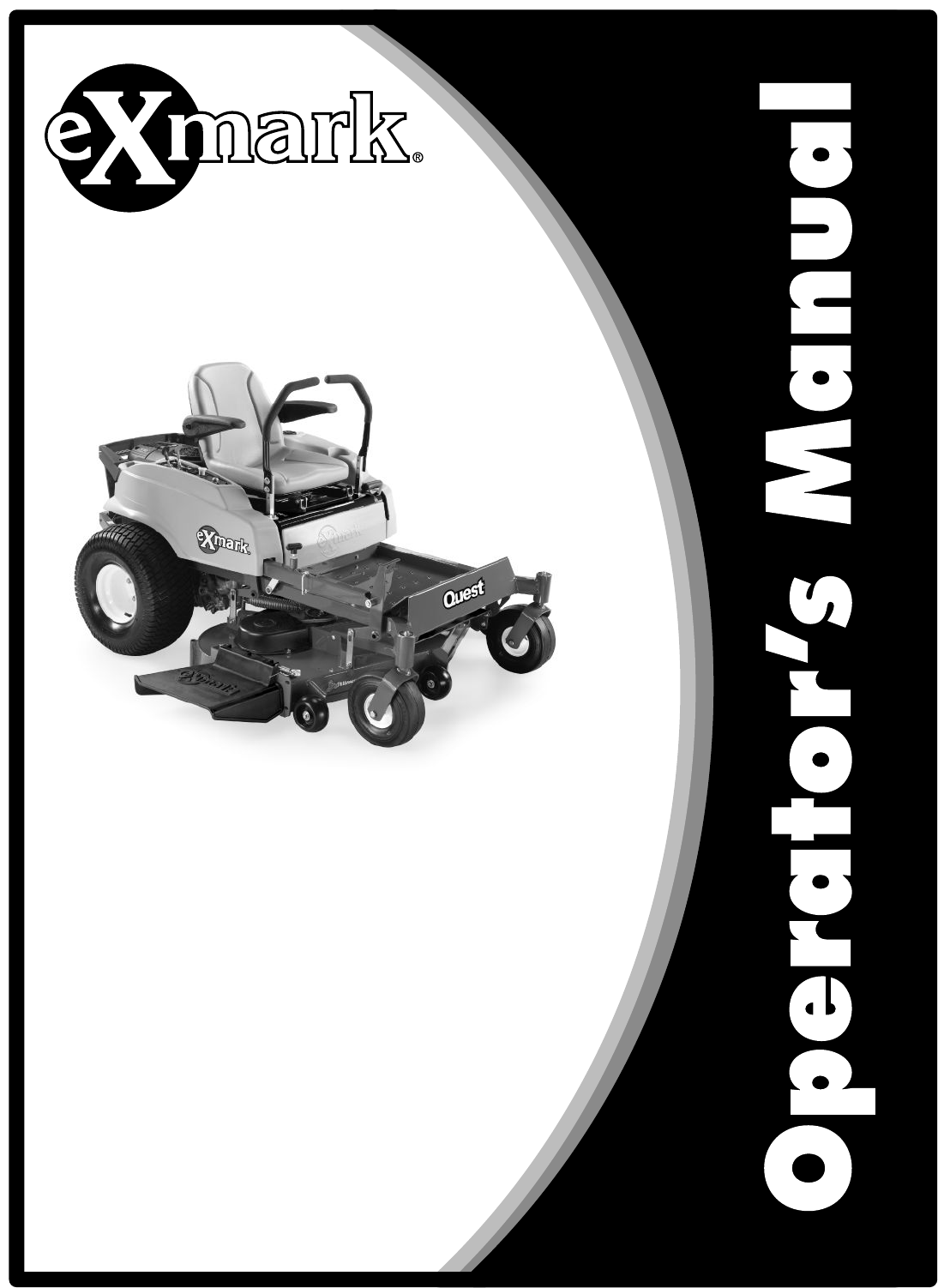 Exmark Quest Lawn Mower Users Manual