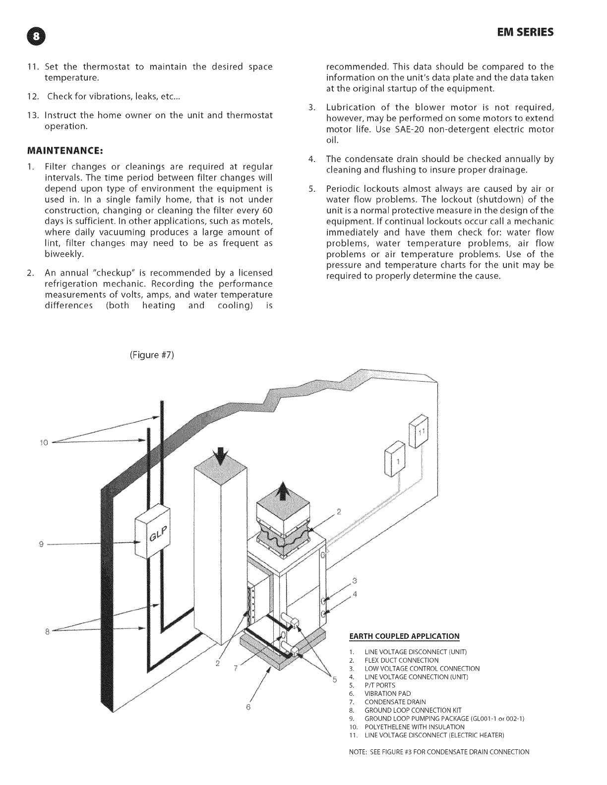 Disconnect Electrical Motor Connection Diagram Florida Heatpump Package Unitsboth Units Combined Manual L0812357 Eivl Series