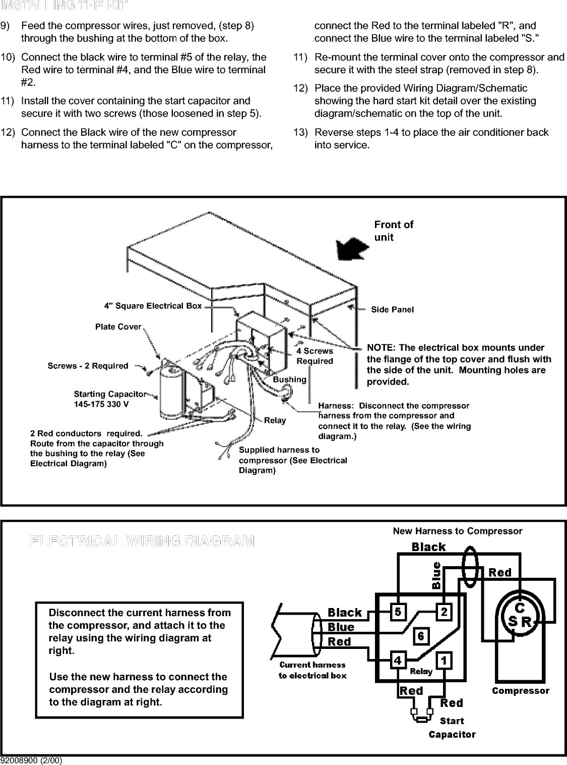 friedrich air conditioner wiring diagram wiring schematics  friedrich ac wiring diagram #9