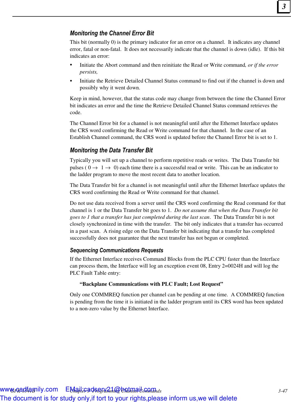 Fanuc Robotics America Gfk 1541B Users Manual TCP/IP Ethernet