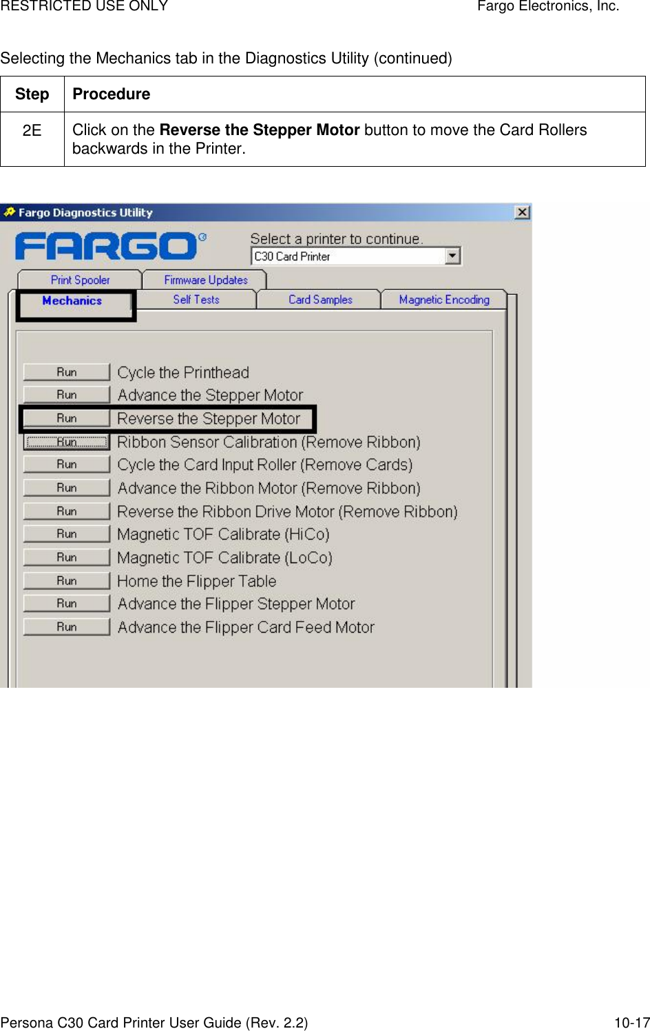 FARGO ELECTRONICS INC C30E DRIVERS FOR MAC