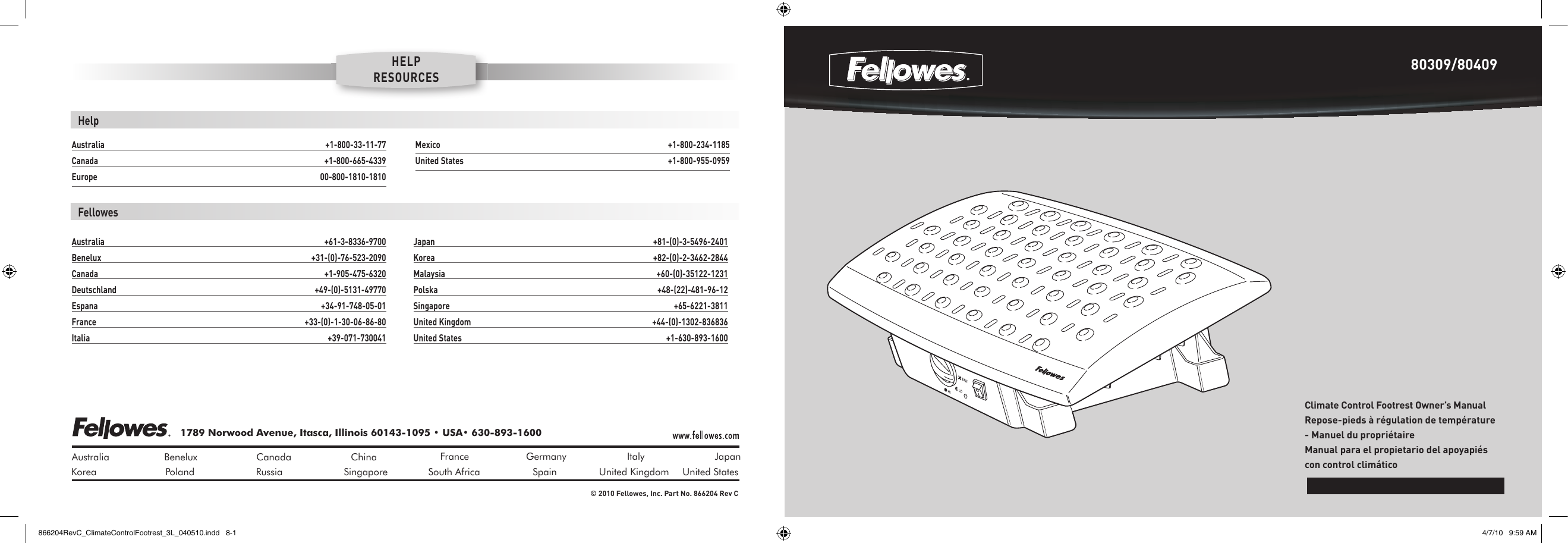 fellowes climate control footrest users manual rh usermanual wiki fellowes venus 125 user manual fellowes ds-500c user manual