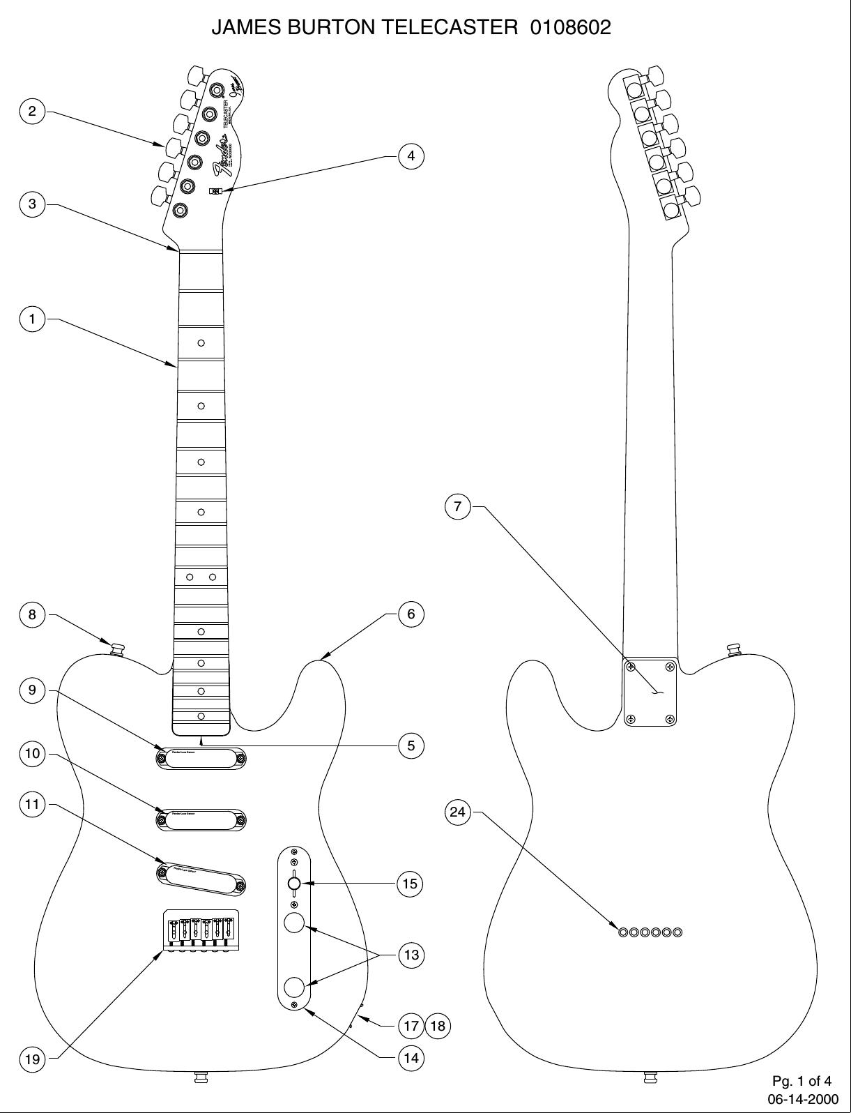 Fender 010 8602A SISD on