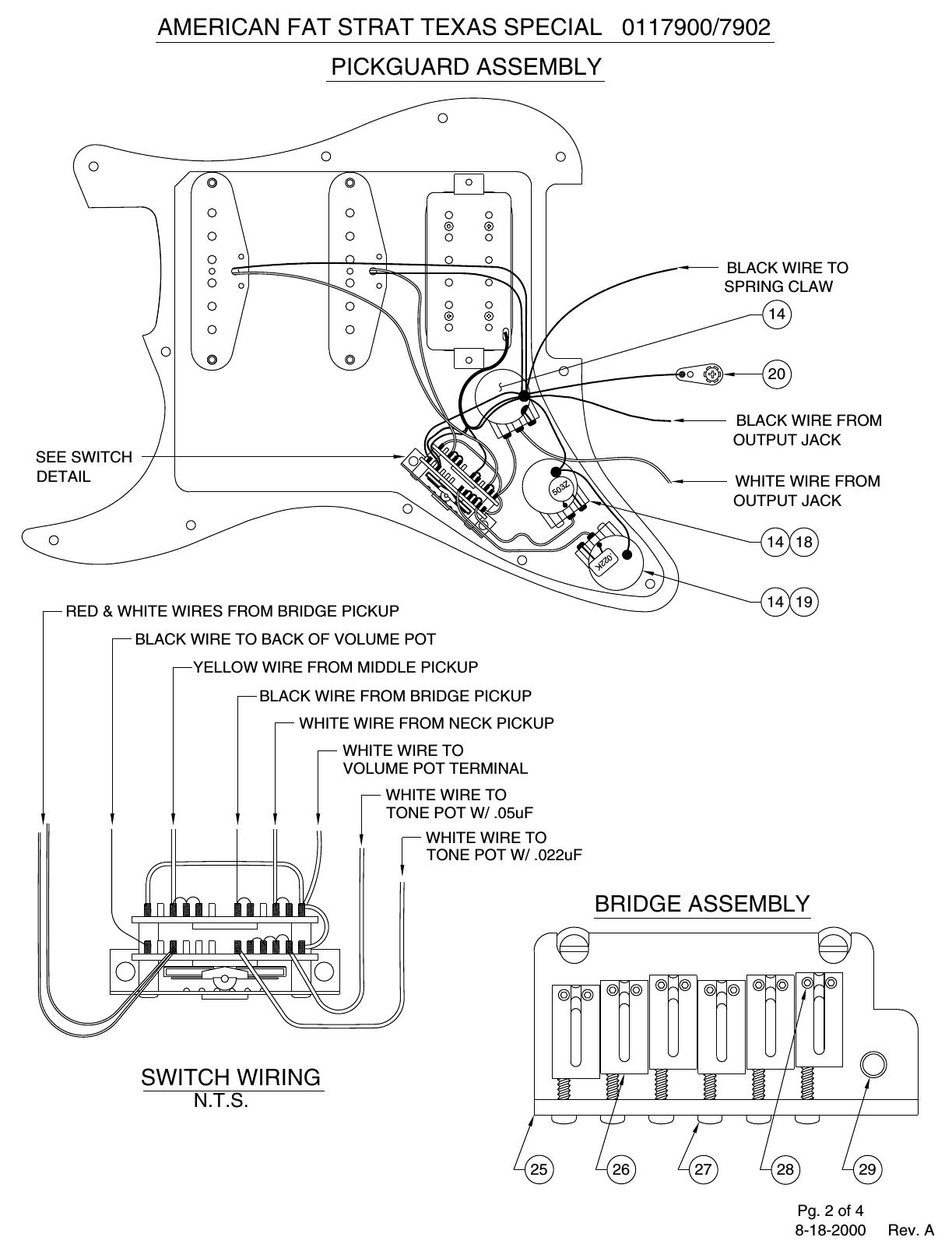Fender 011 7900 02A SISD