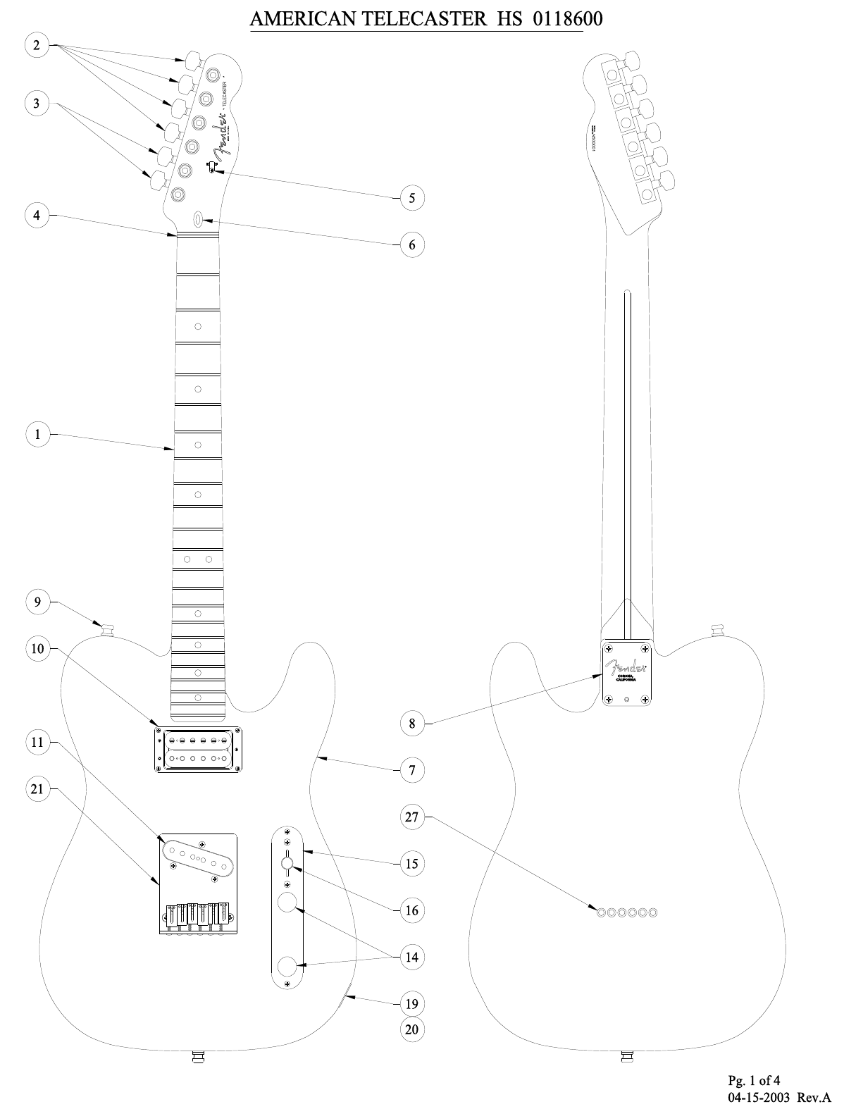 Hs Telecaster Wiring Diagram from usermanual.wiki