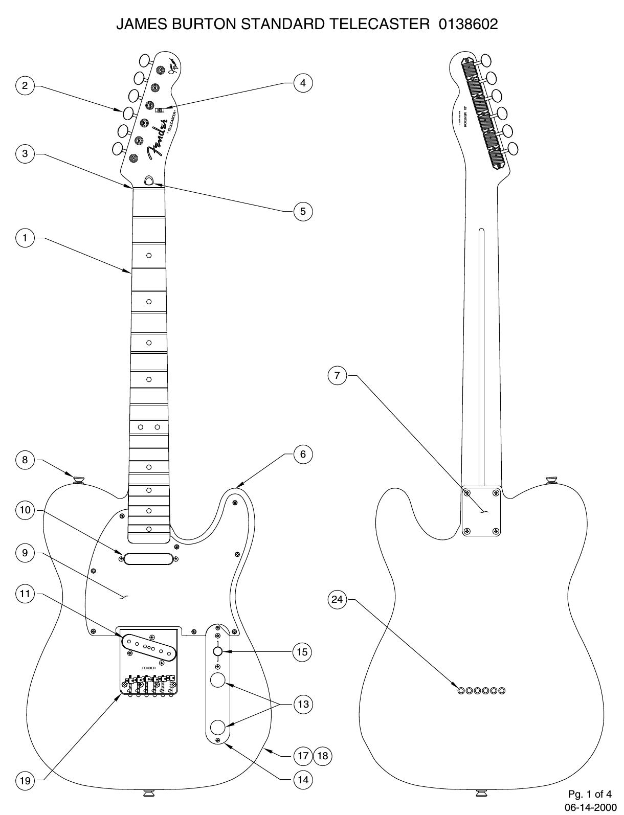 Fender 013 8602A SISD on