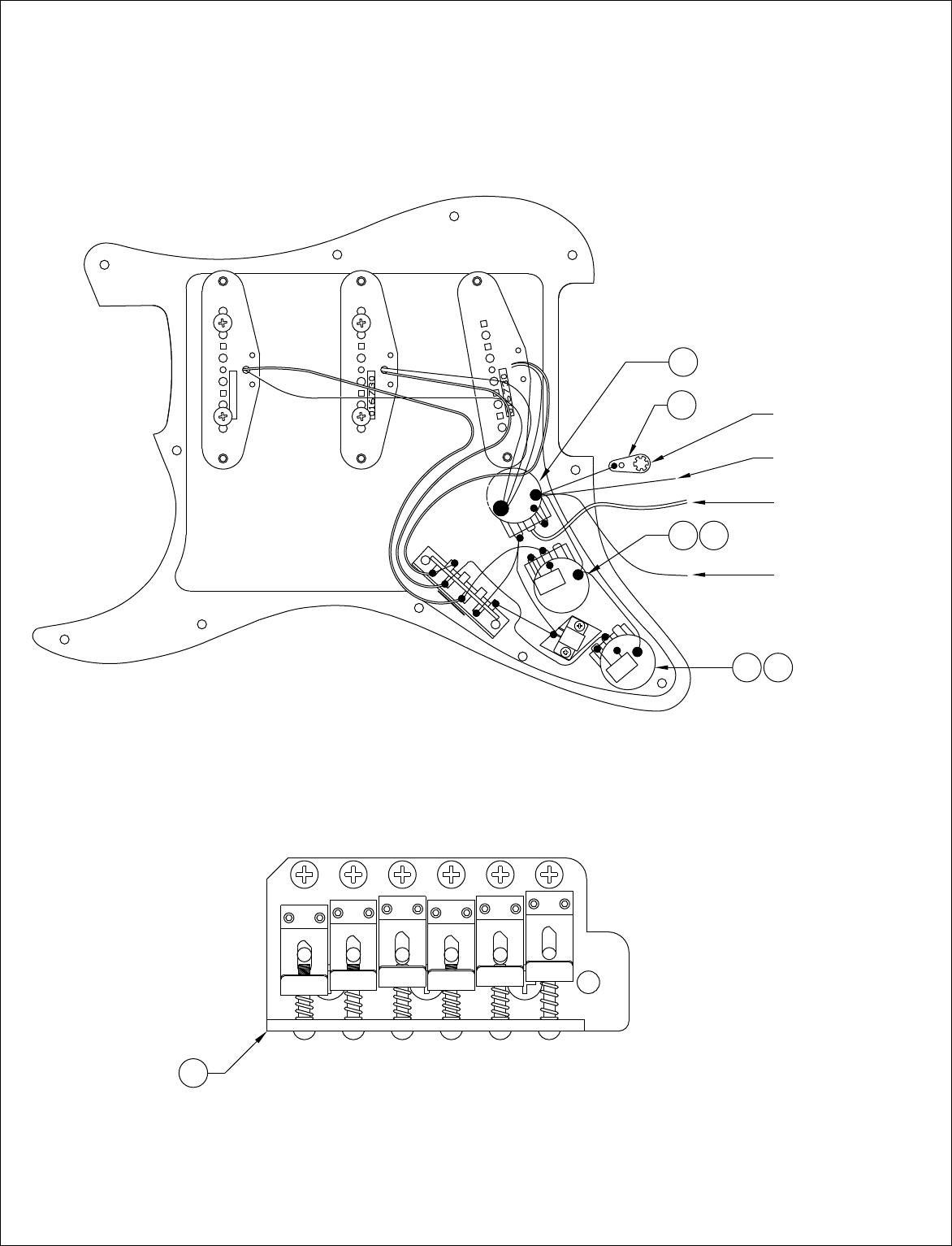 fender wiring schematic 2 pickup 1 volume 2 tone 5 way switch