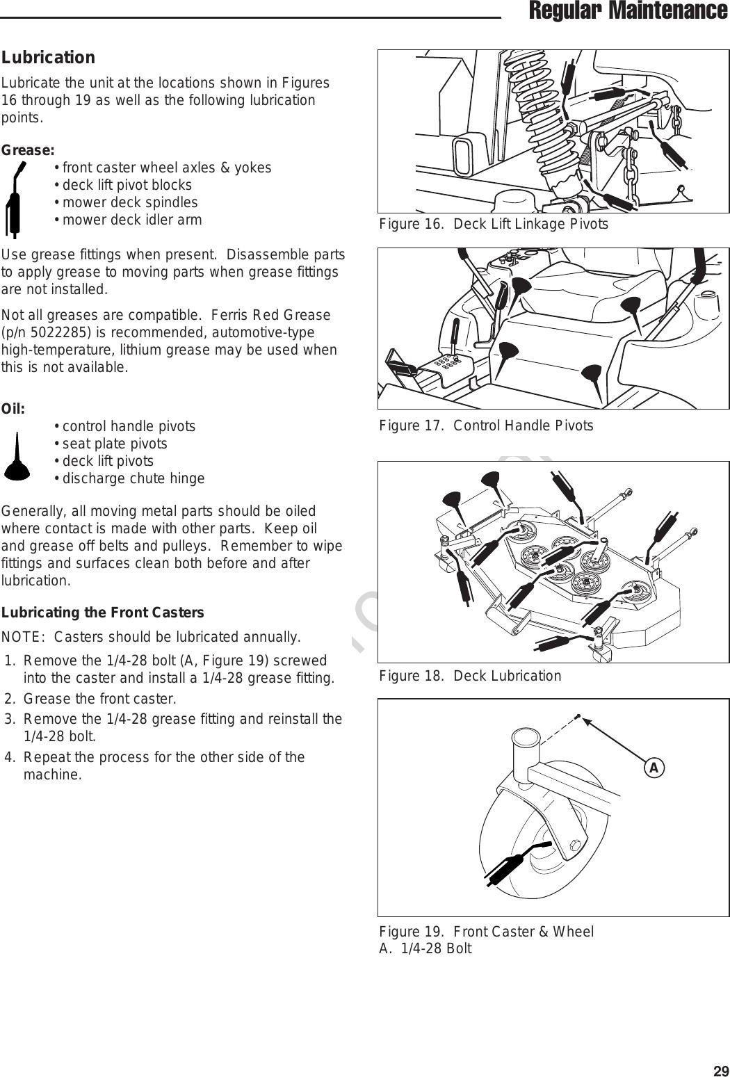 Ferris Industries Lawn Mower 5900301 Users Manual Print