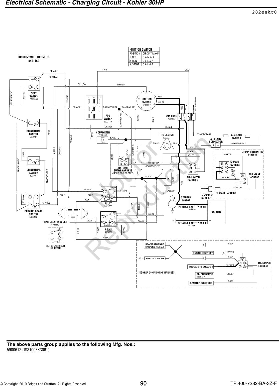 Ferris Belt Diagram
