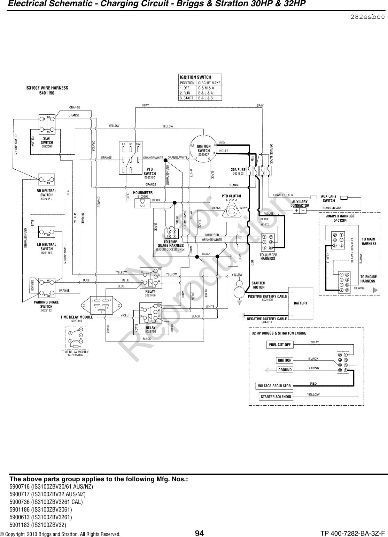 Ferris Industries Lawn Mower Is3100Z Series Users Manual PartsManual