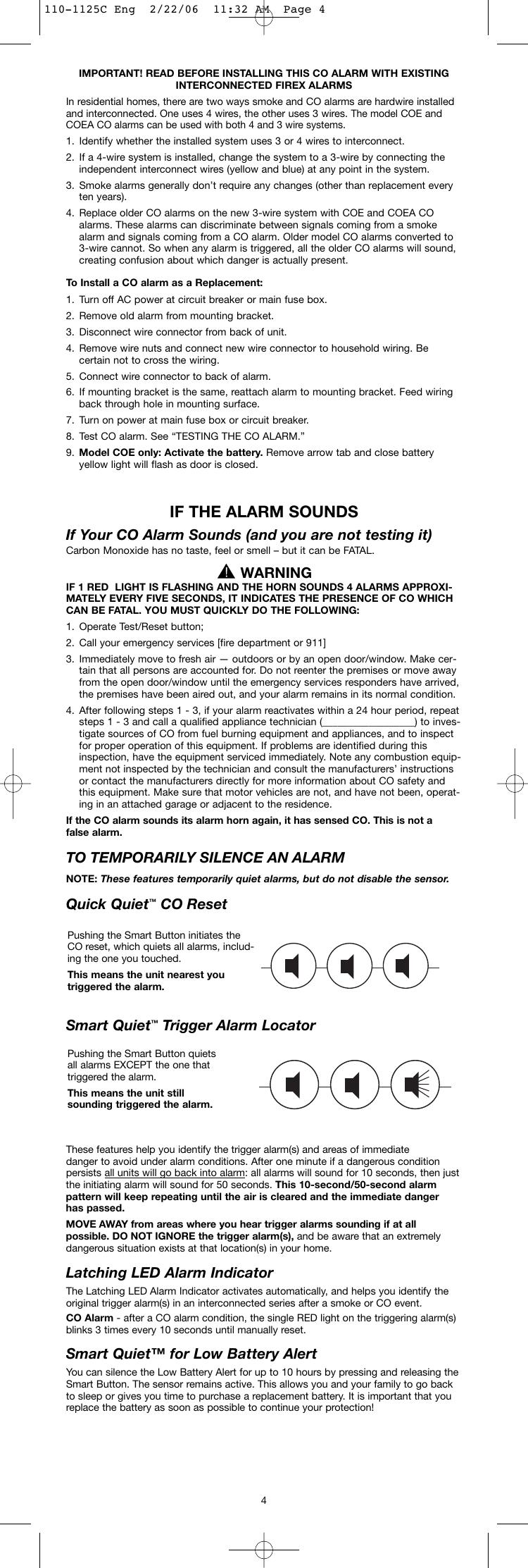 Firex Series 10000 Users Manual 110 1125C Eng