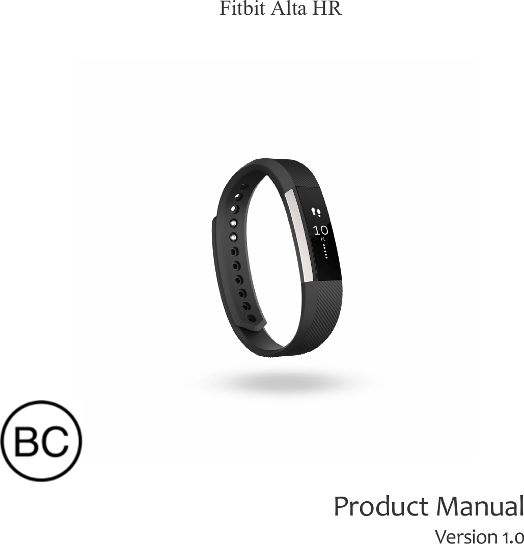Users manual for fitbit charge hr manual