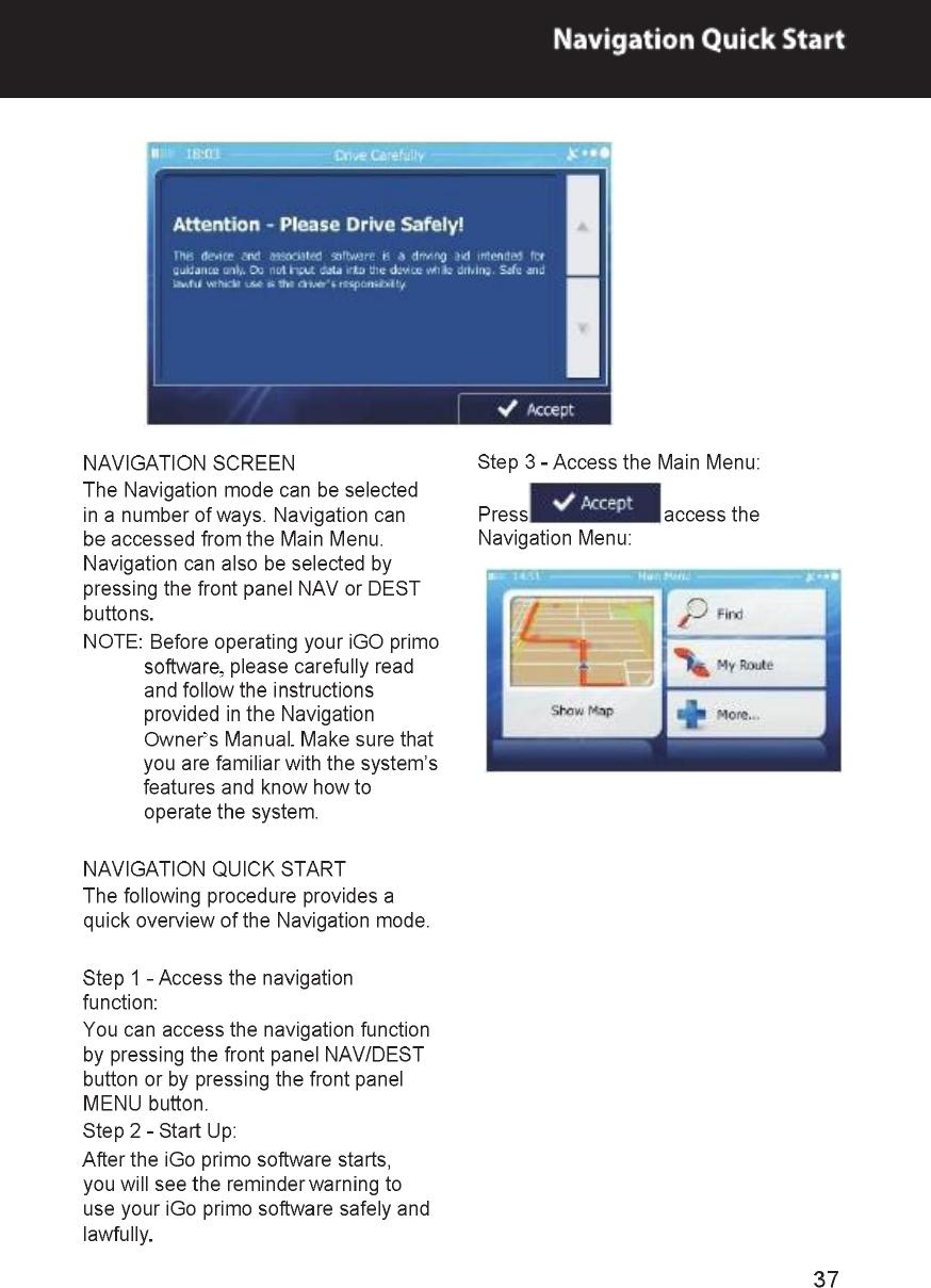 FlyAudio 75435B01E2 Ford 2013 kuga User Manual