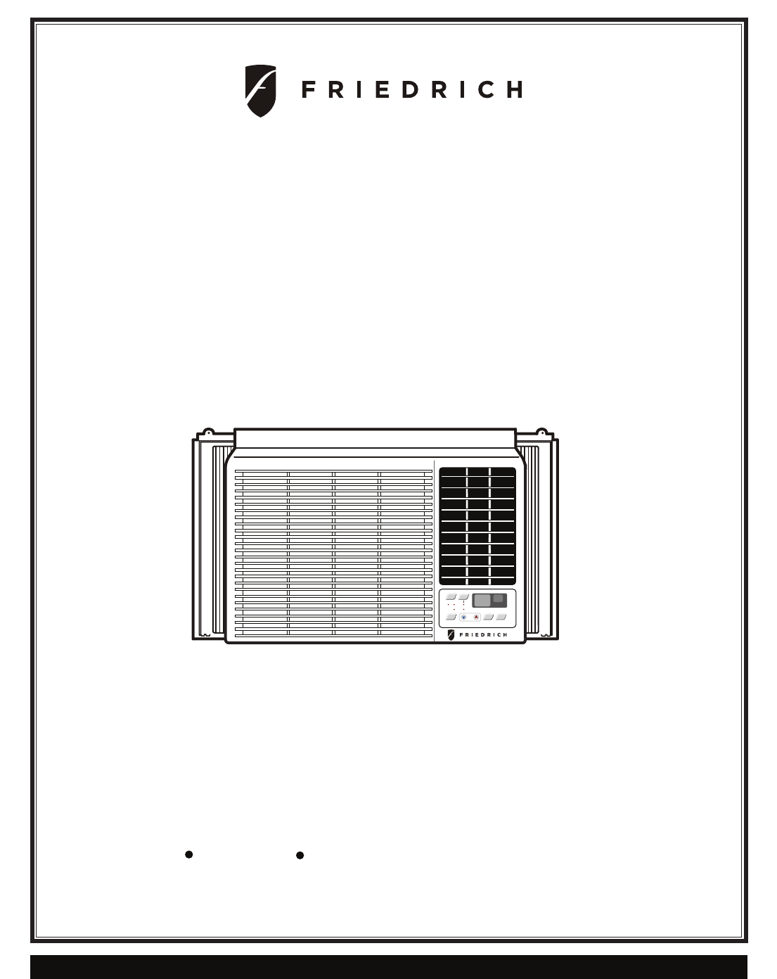 Friedrich Cp10f10 Users Manual. Room Air Conditioner. Wiring. Friedrich Capacitor Wire Diagram At Scoala.co