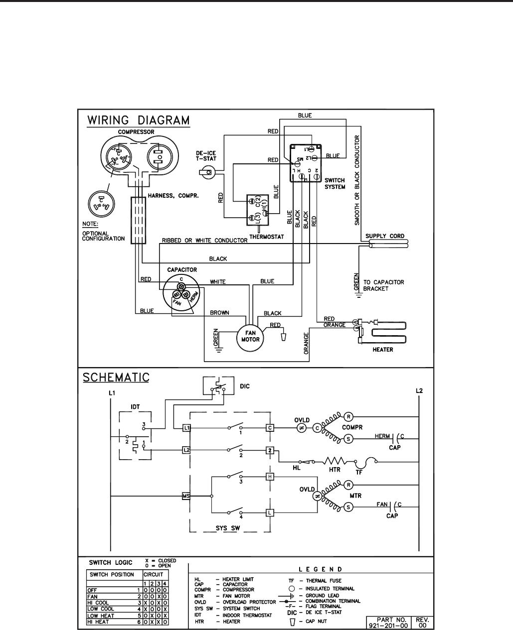 Friedrich Quietmaster 2009 Users Manual P2kpd 1 05 The 25l Motor Data Sensor Heating Oxygen Circuit Diagram Of Electromechanical Control