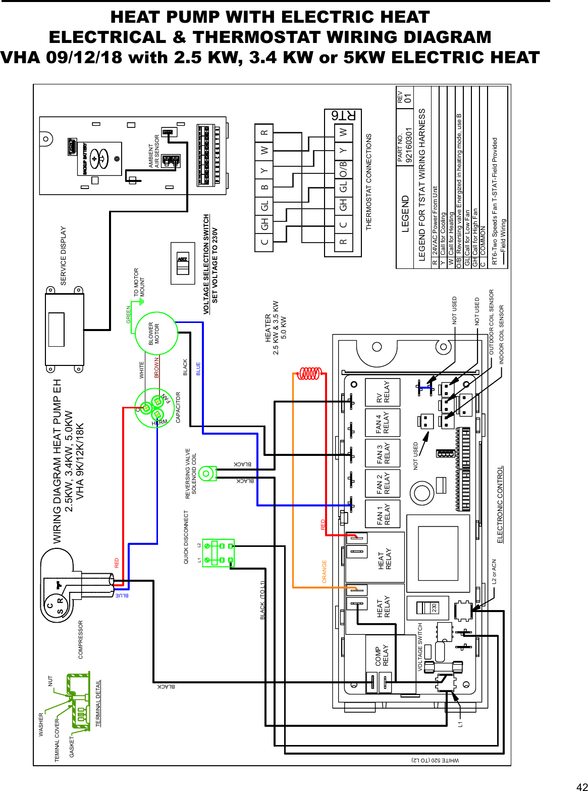 friedrich thermostat wiring diagram wiring library  friedrich wiring diagrams #12