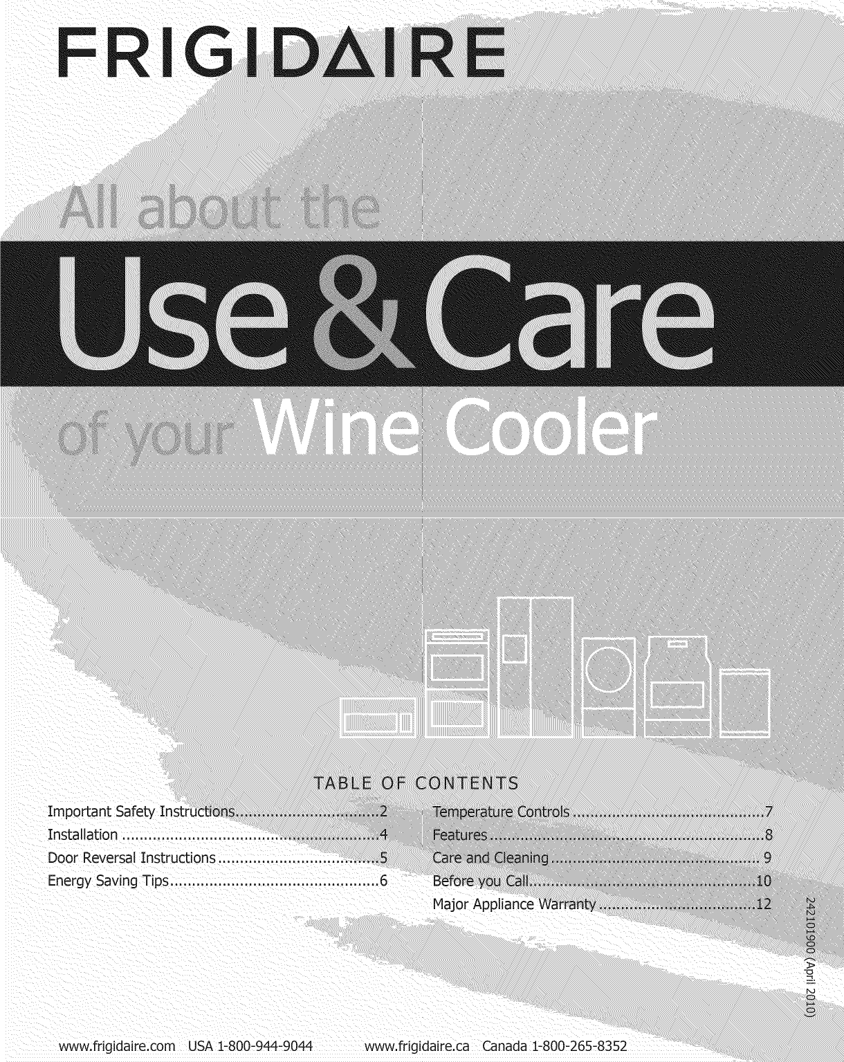 Wiring Diagram For Frigidaire Wine Cooler Trusted Diagrams Cfwc38f6ls 1009842l User Manual Manuals And Oven Parts