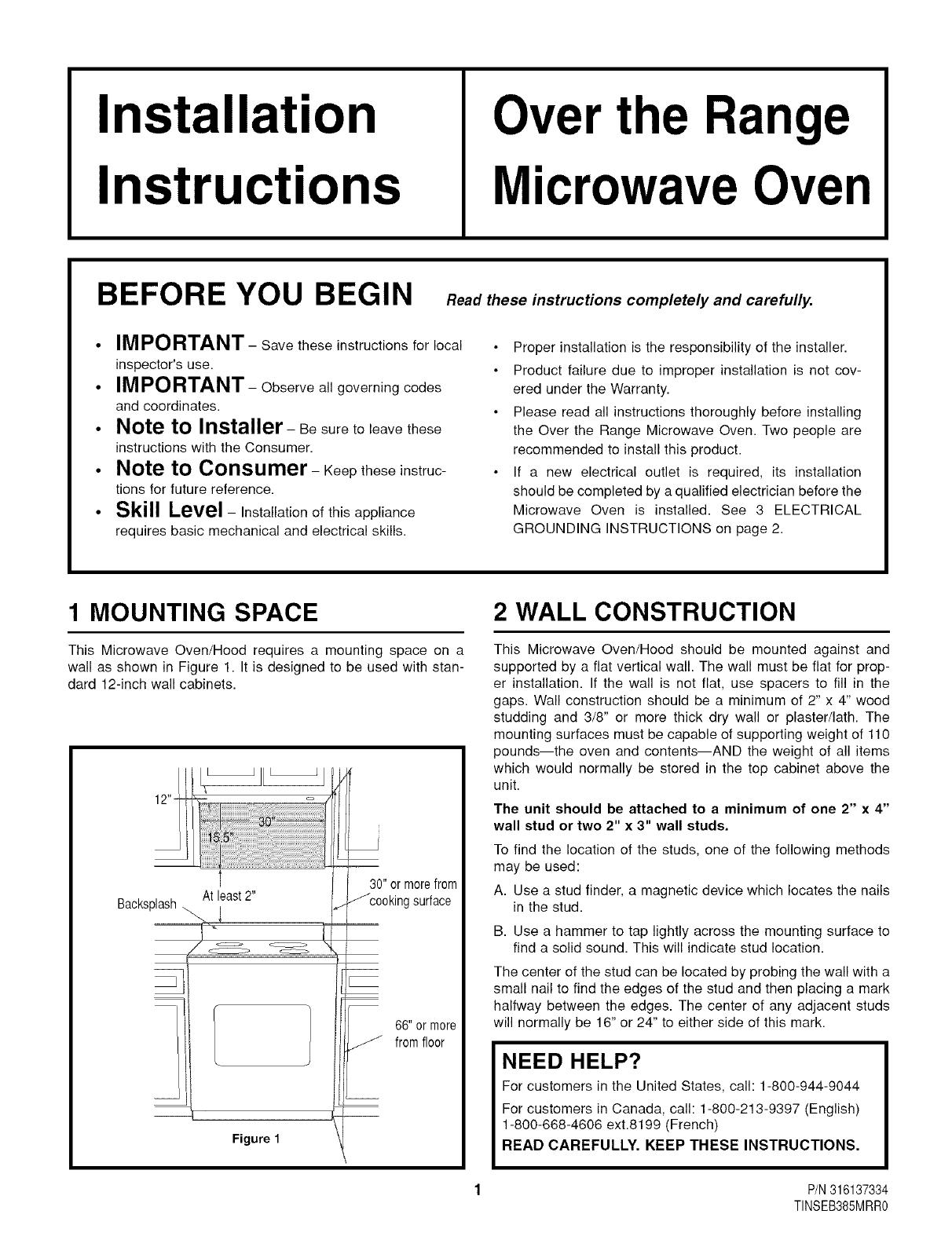 Frigidaire Cglmv169dbb User Manual